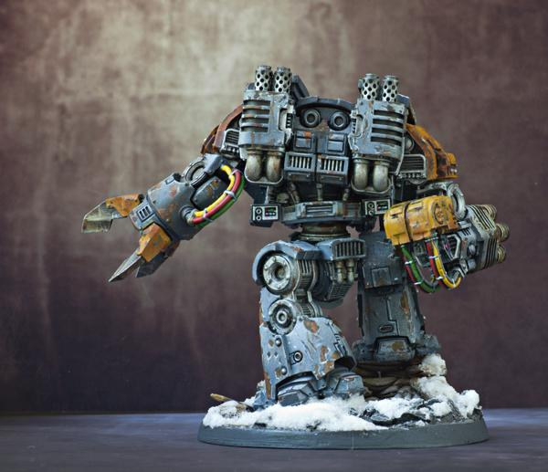 Dreadnought, Leviathan, Magnetised, Space Wolves