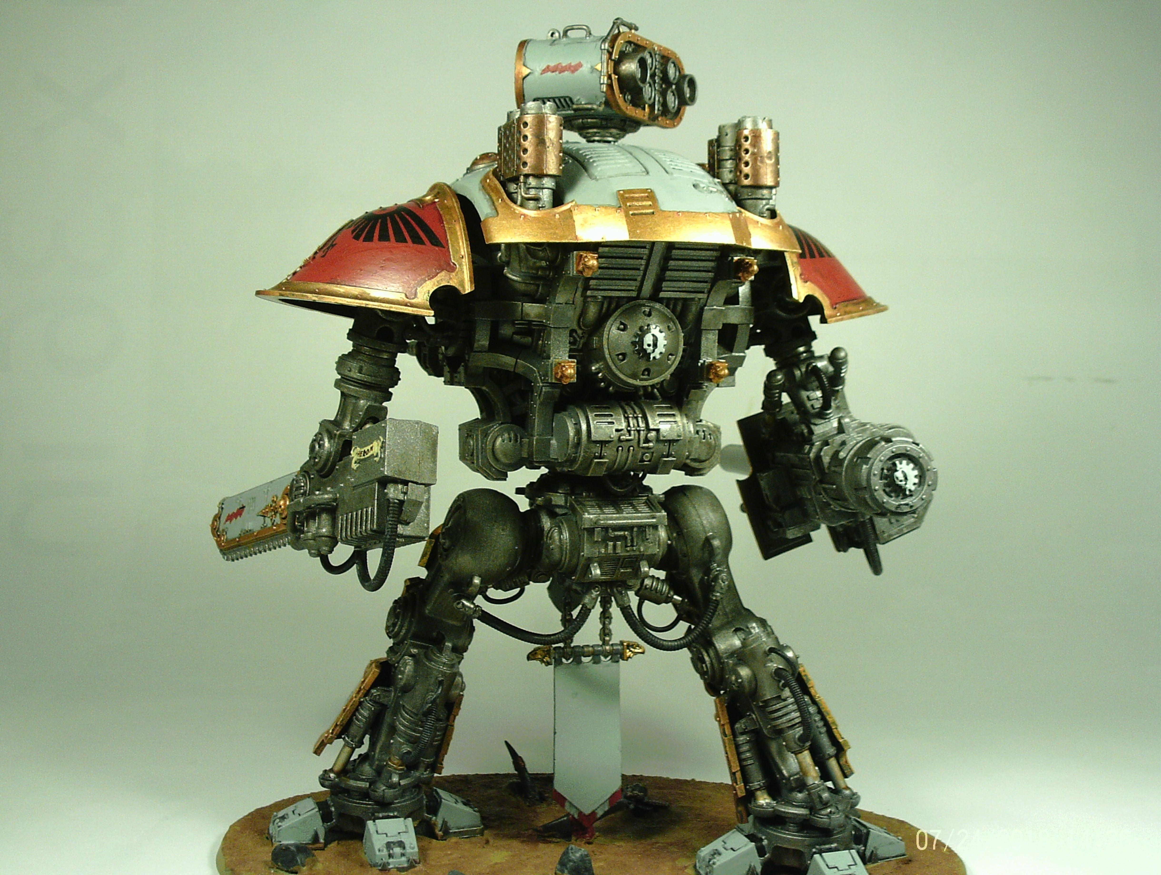 Cannon, Crusader, Errant, Gallant, Imperial, Knights, Lance, Paladin, Super-heavy, Titan, Titanic, Walker, Warden