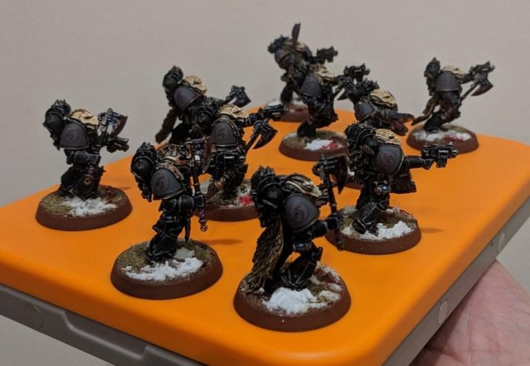Deathsworn (Unit shoulders)