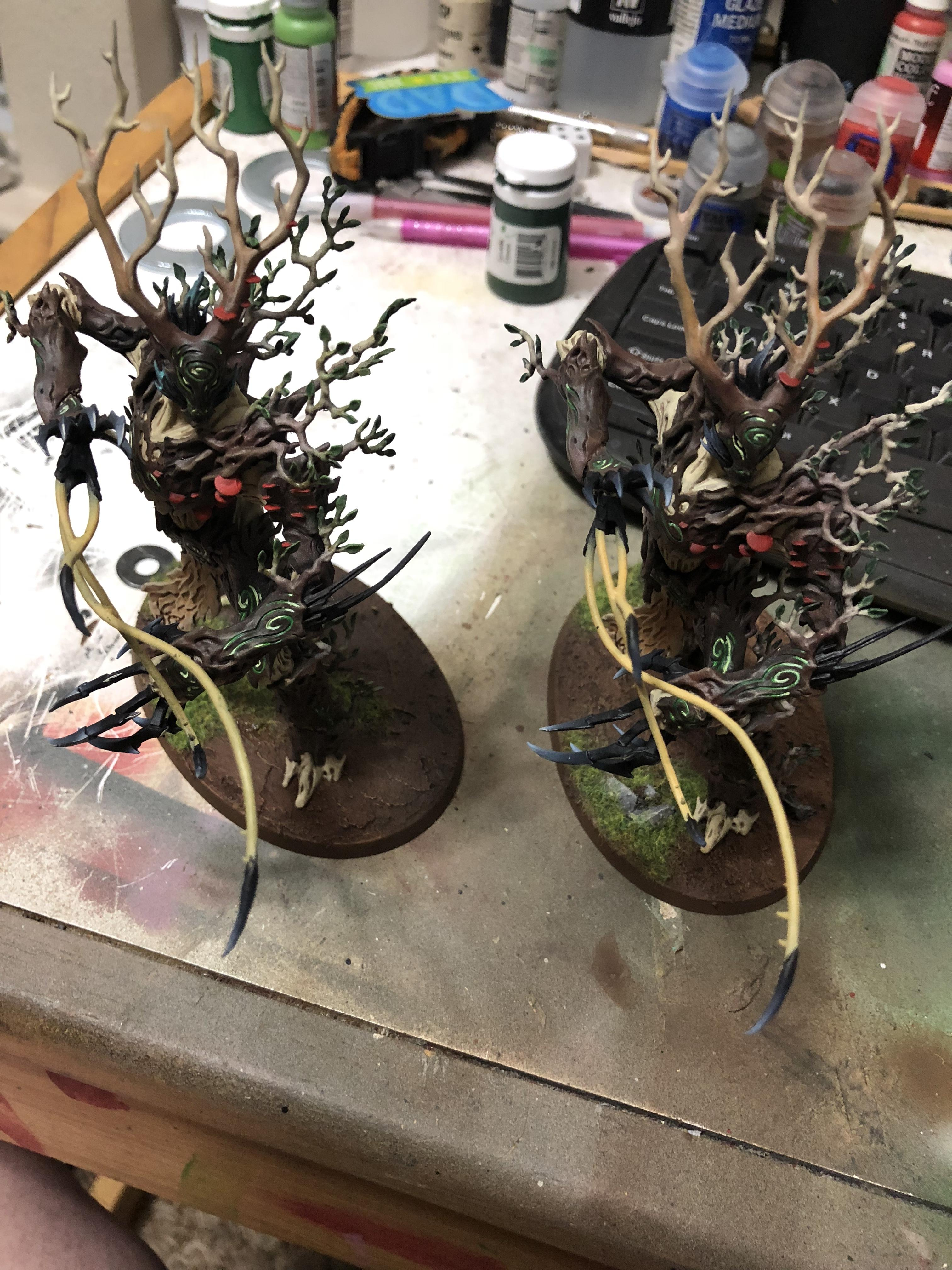 Age Of Sigmar, Commission, Painted, Tree Lord, Treelord, Warhammer Fantasy