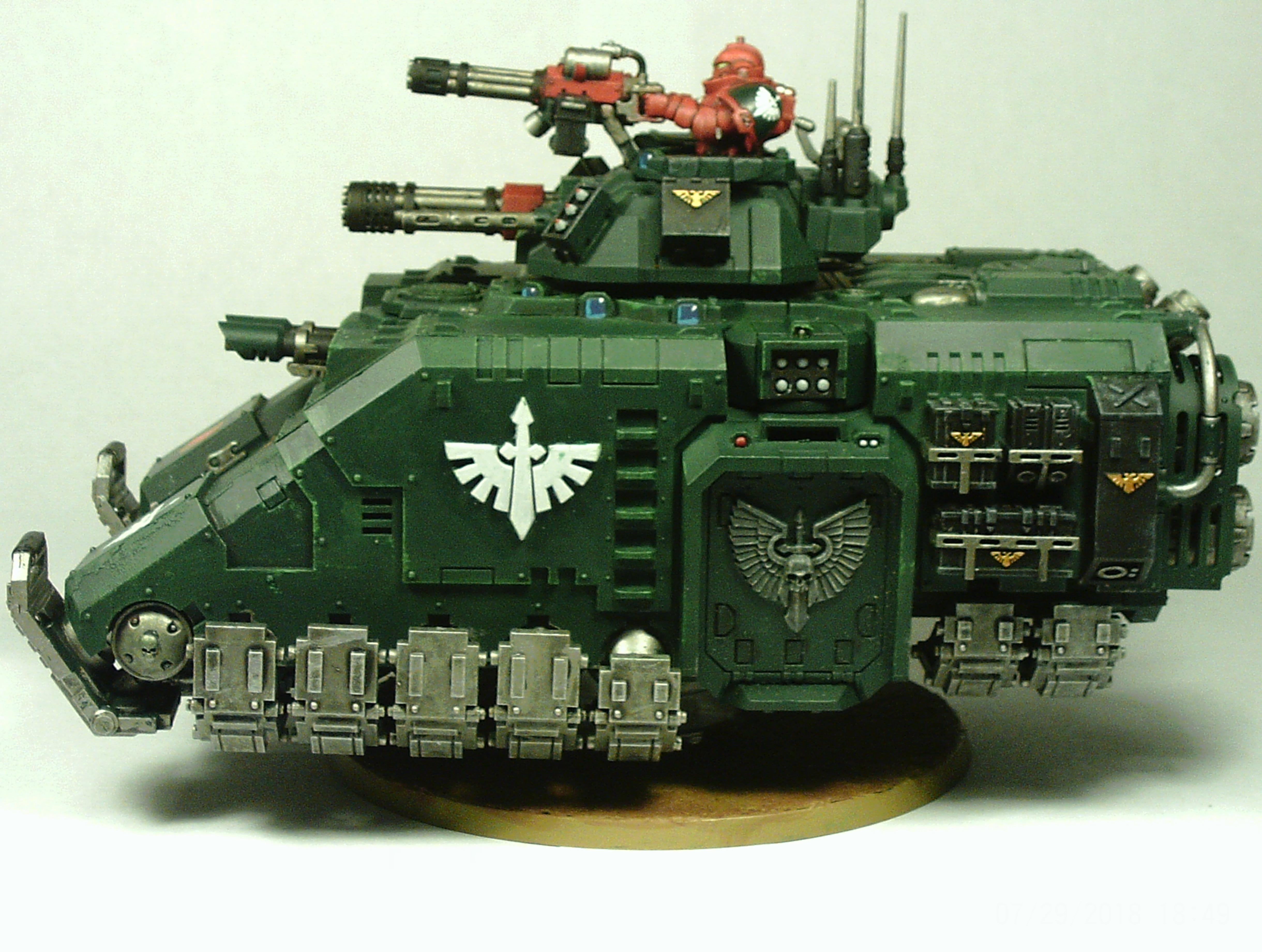 Angel, Box, Dark, Flying, Heavy, Metal, Primaris, Repulsor, Space, Space Marines, Tank, Transport