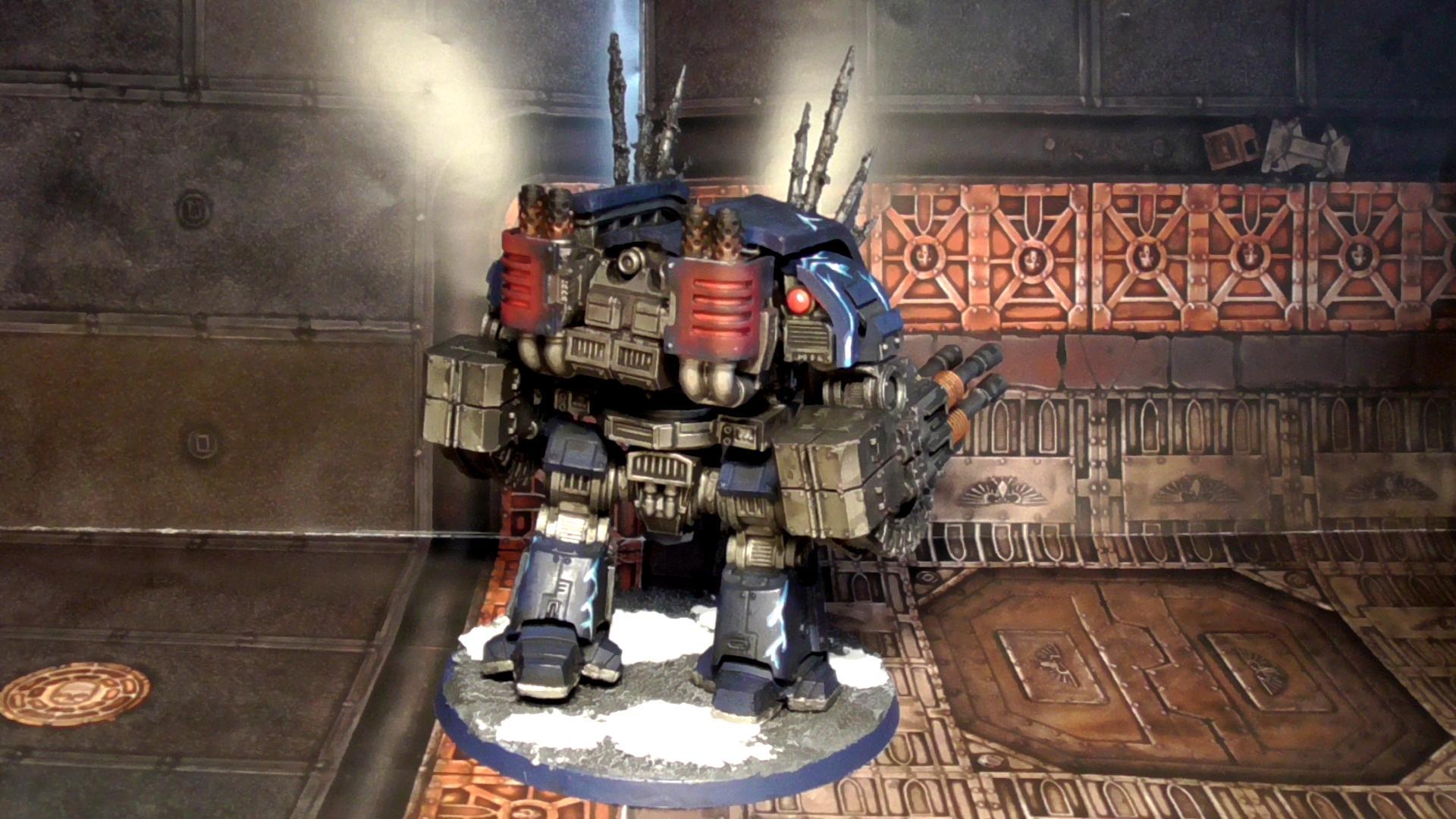Horus Heresy, Leviathan Dreadnought, Night Lords, Warhammer 30k, Warhammer 40,000