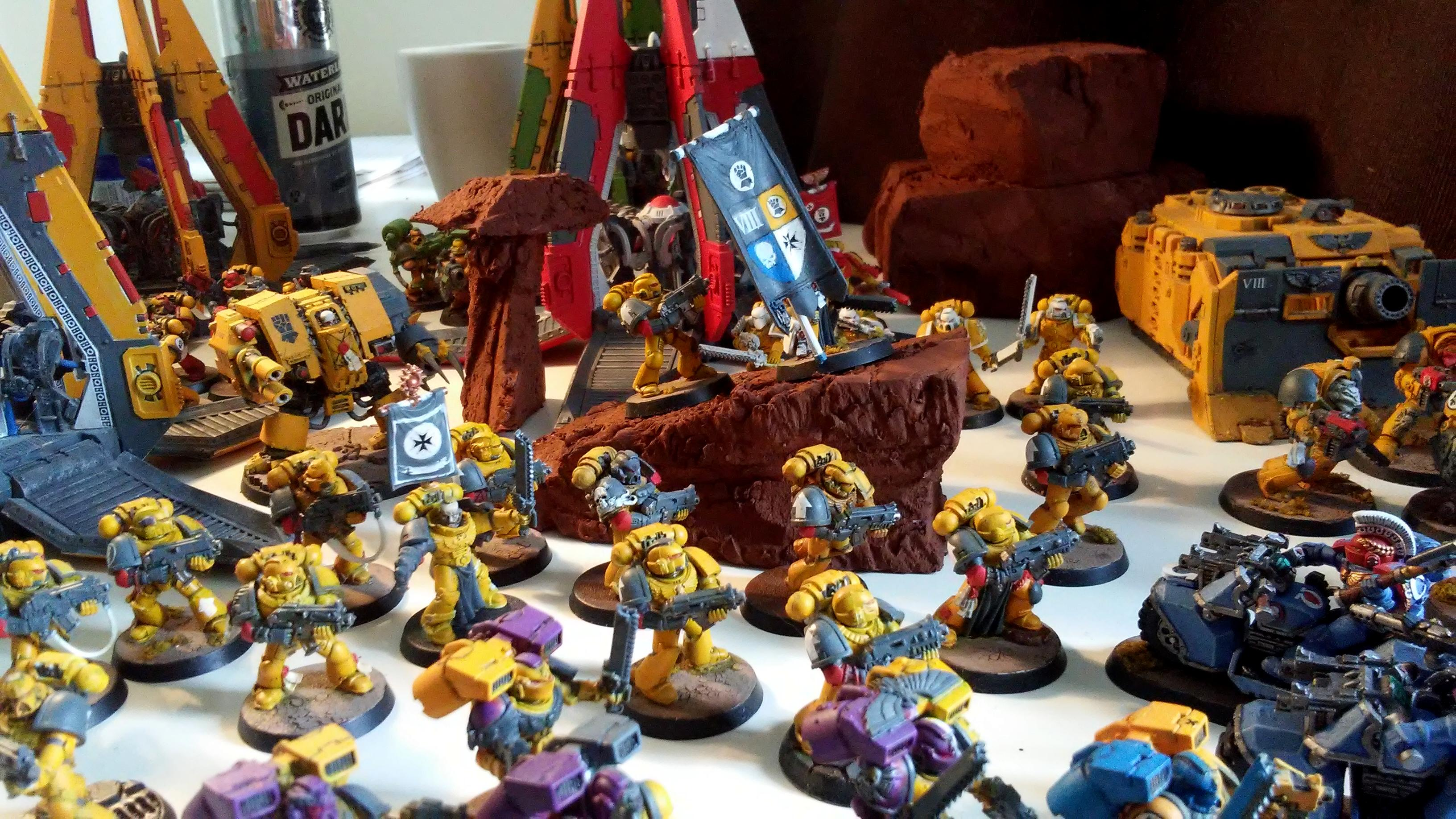 Imperial Fists, Imperial Fists show case