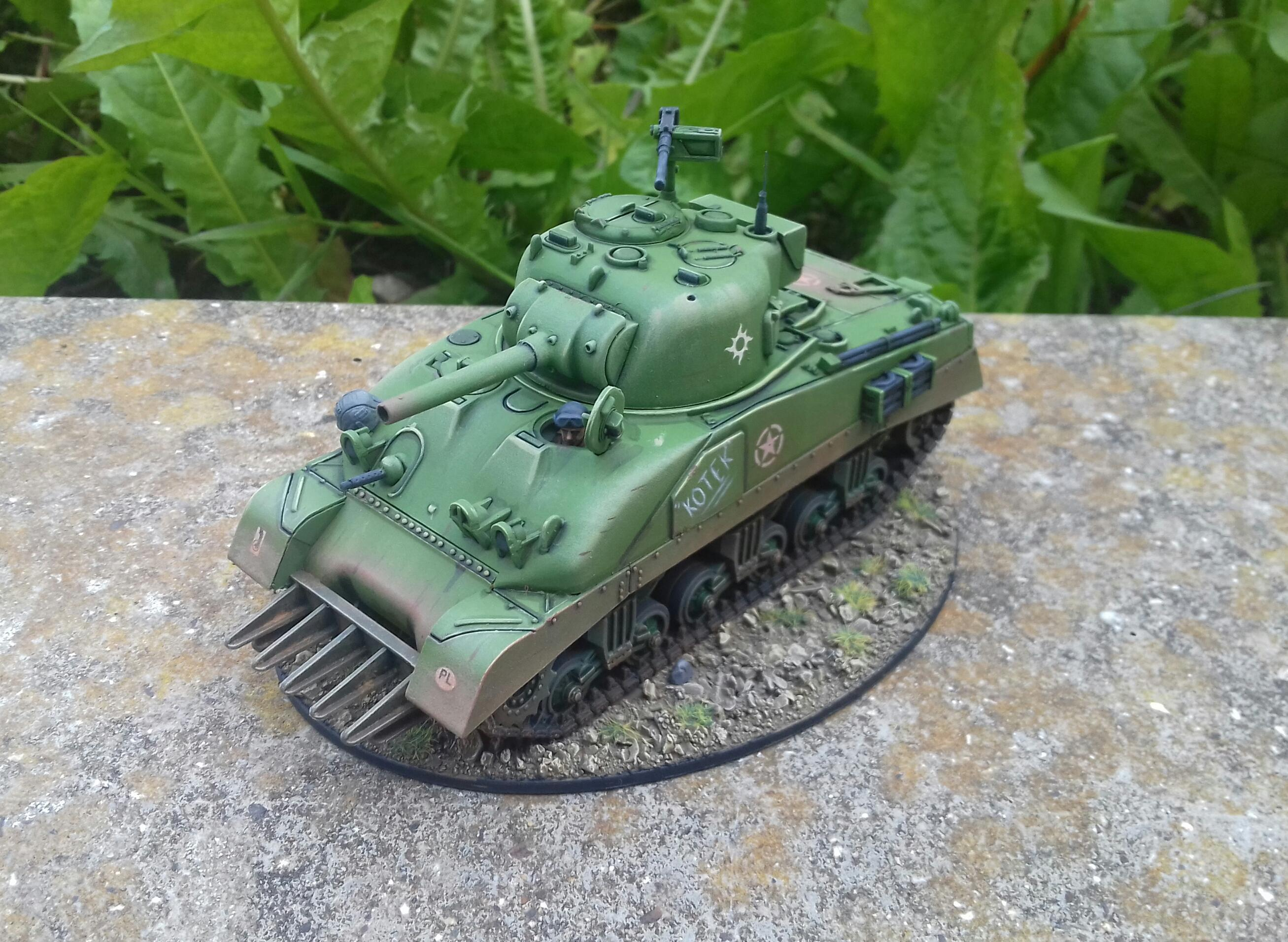 105, Bolt Action, Sherman, World War 2