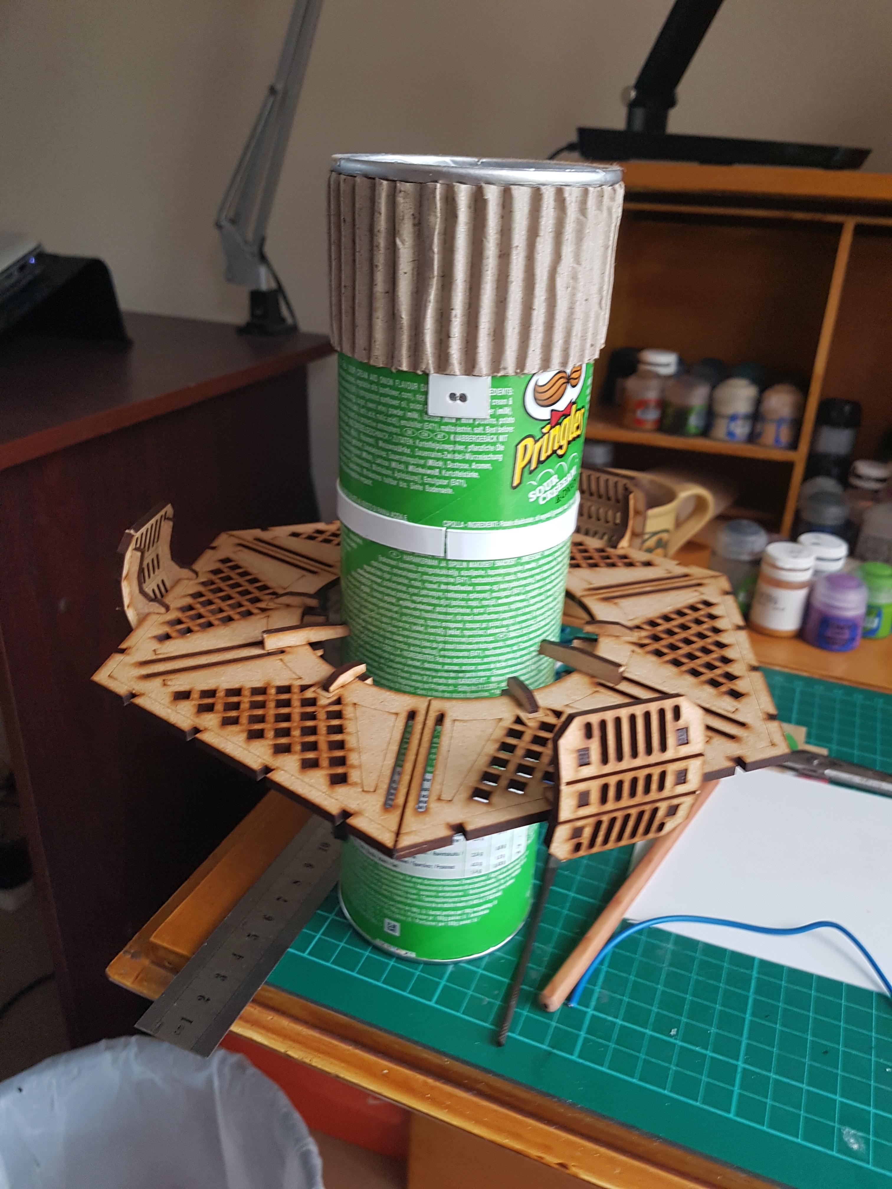 Leds, Pringles, Scratch Build, Terrain