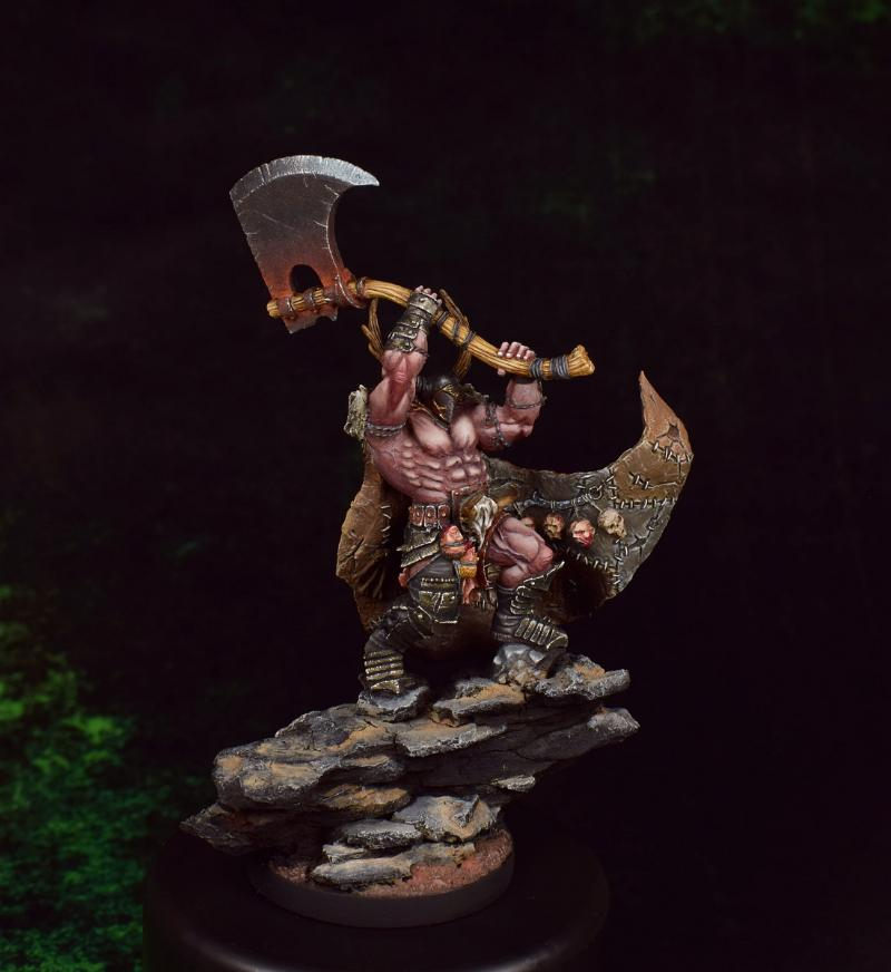Barbarian, Carrowek, Mierce, Warhammer Fantasy, Ysians