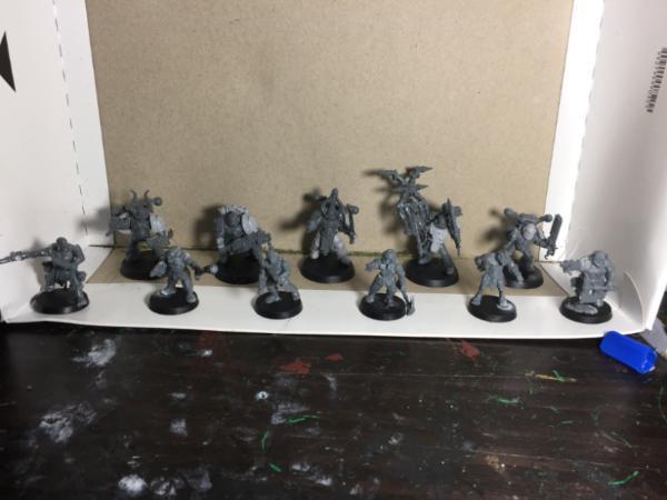Iur_Tae_Mont's Wargaming Blog UPDATE 8/6 Warhound Titan 3d Print