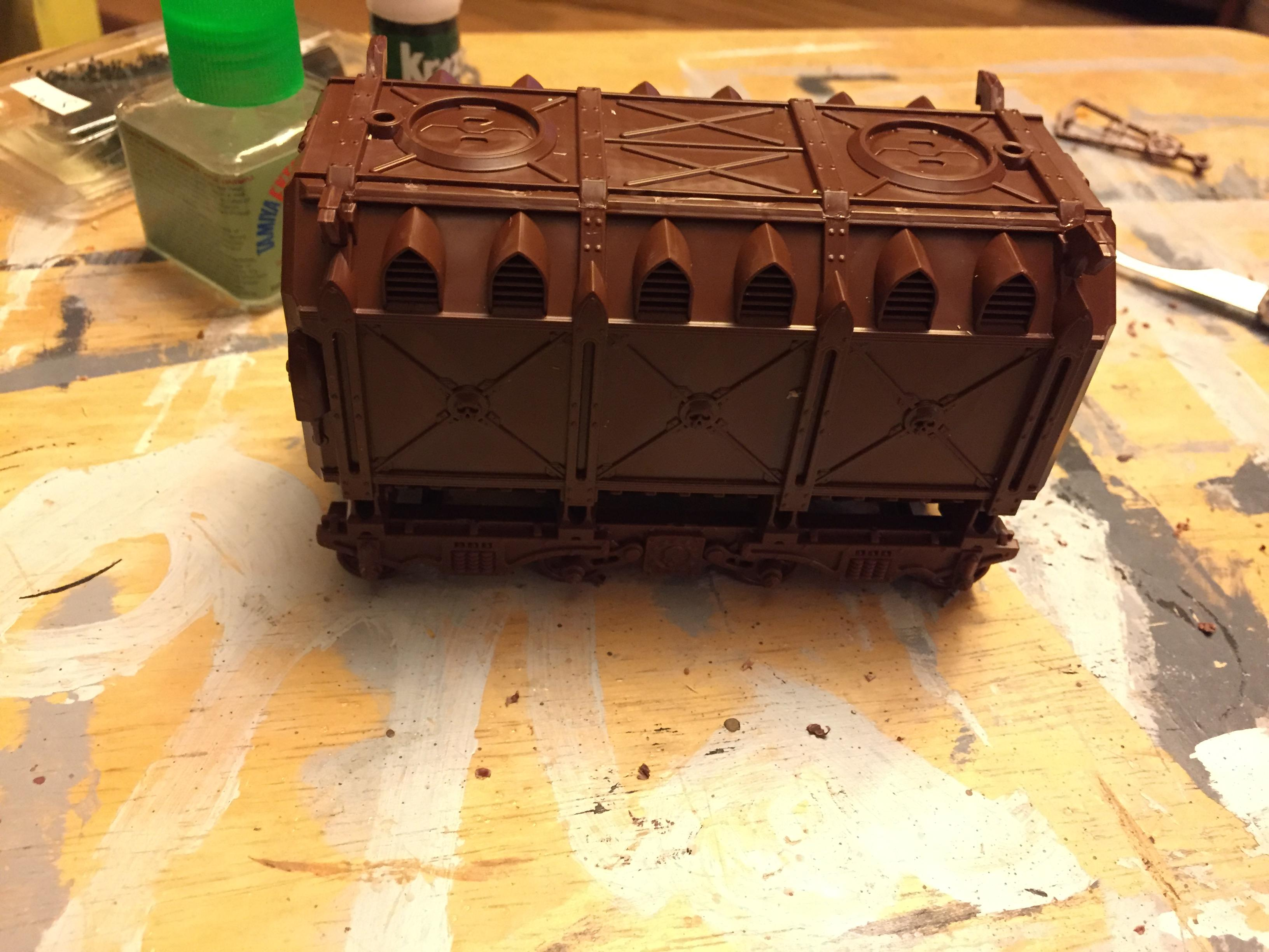 Container, Crate, Terrain, Warhammer 40,000, Work In Progress
