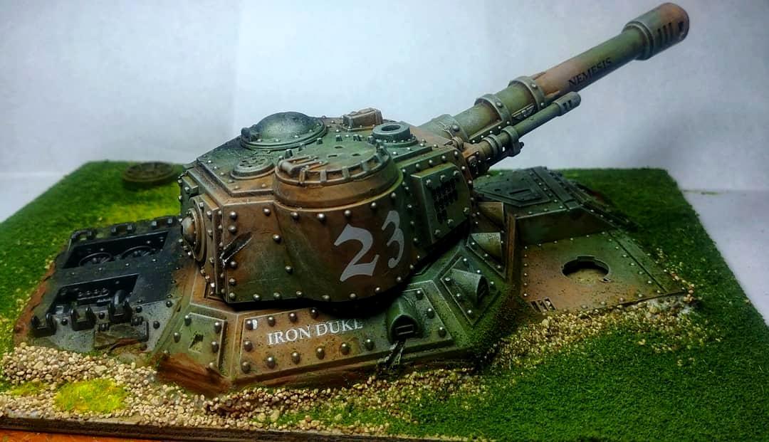Babeblade, Baneblade, Kit Bash, Panzerofthelake, Super-heavy, Terrain, Warhammer 40,000, Warhammer40000
