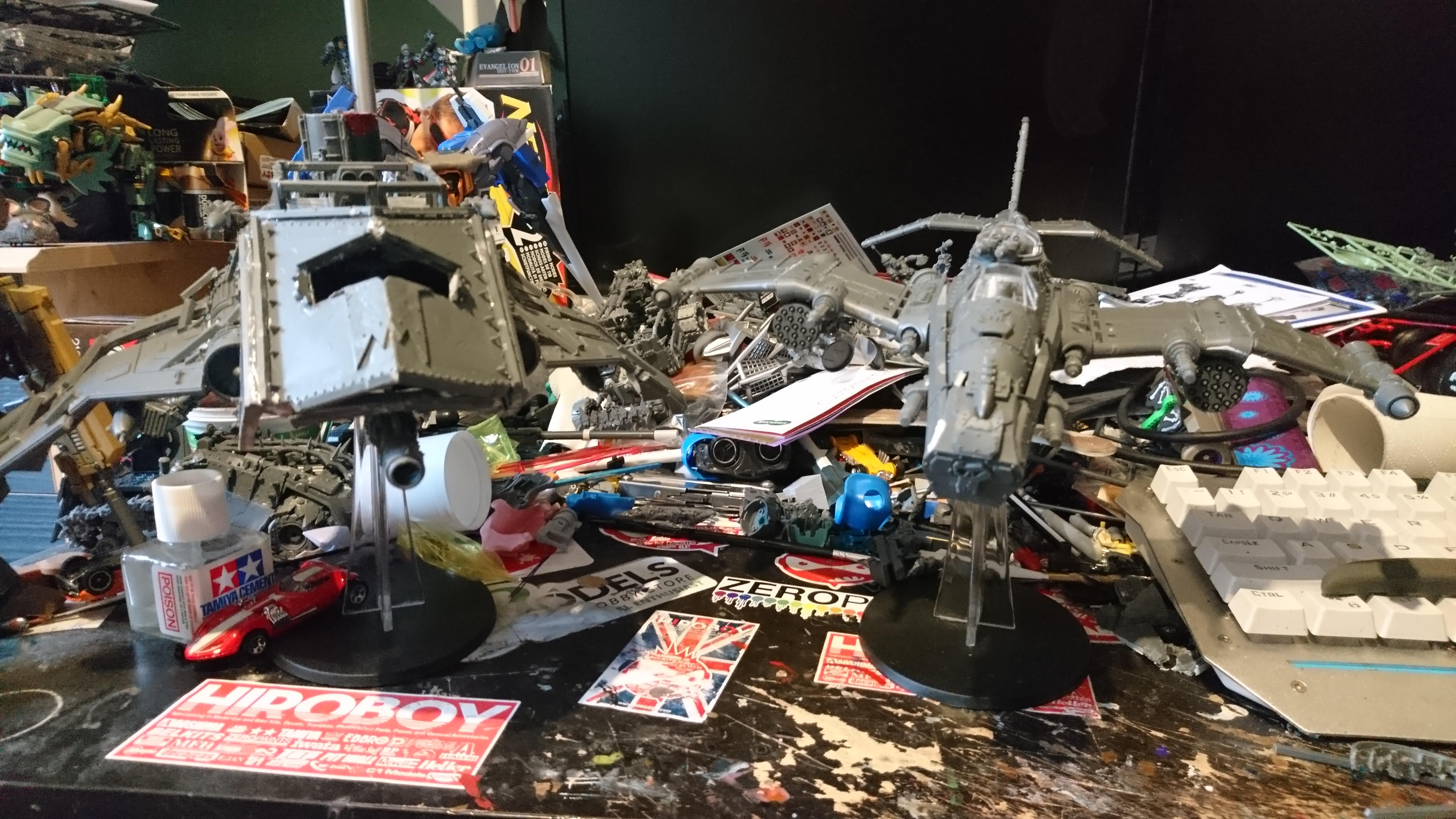Bomber, Conversion, Dakka Dakka, Dakka Jet, Jet, Kink, Kitbash, Orks, Warhammer 40,000, Warhammer Fantasy, Work In Progress