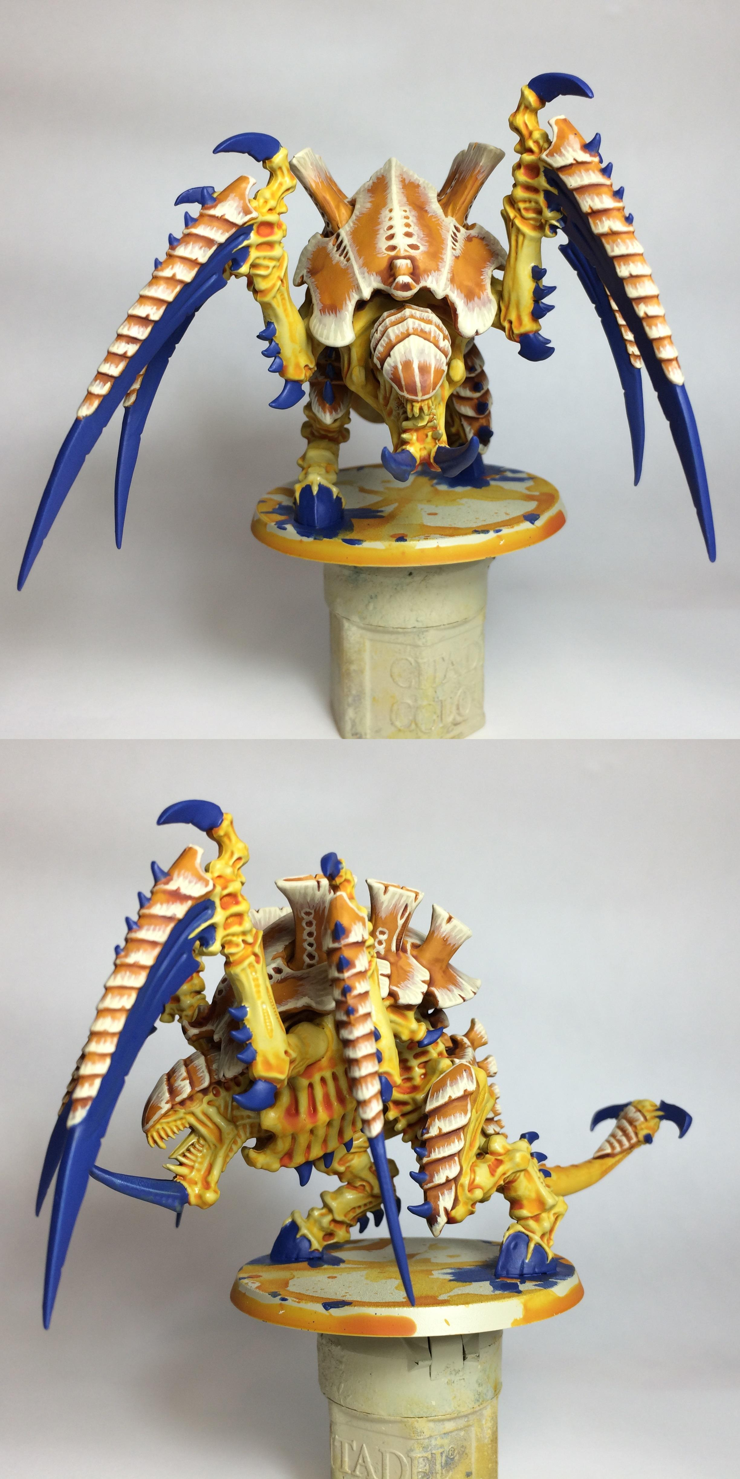 Carnifex, Mastodon, Tyranids, Yellow