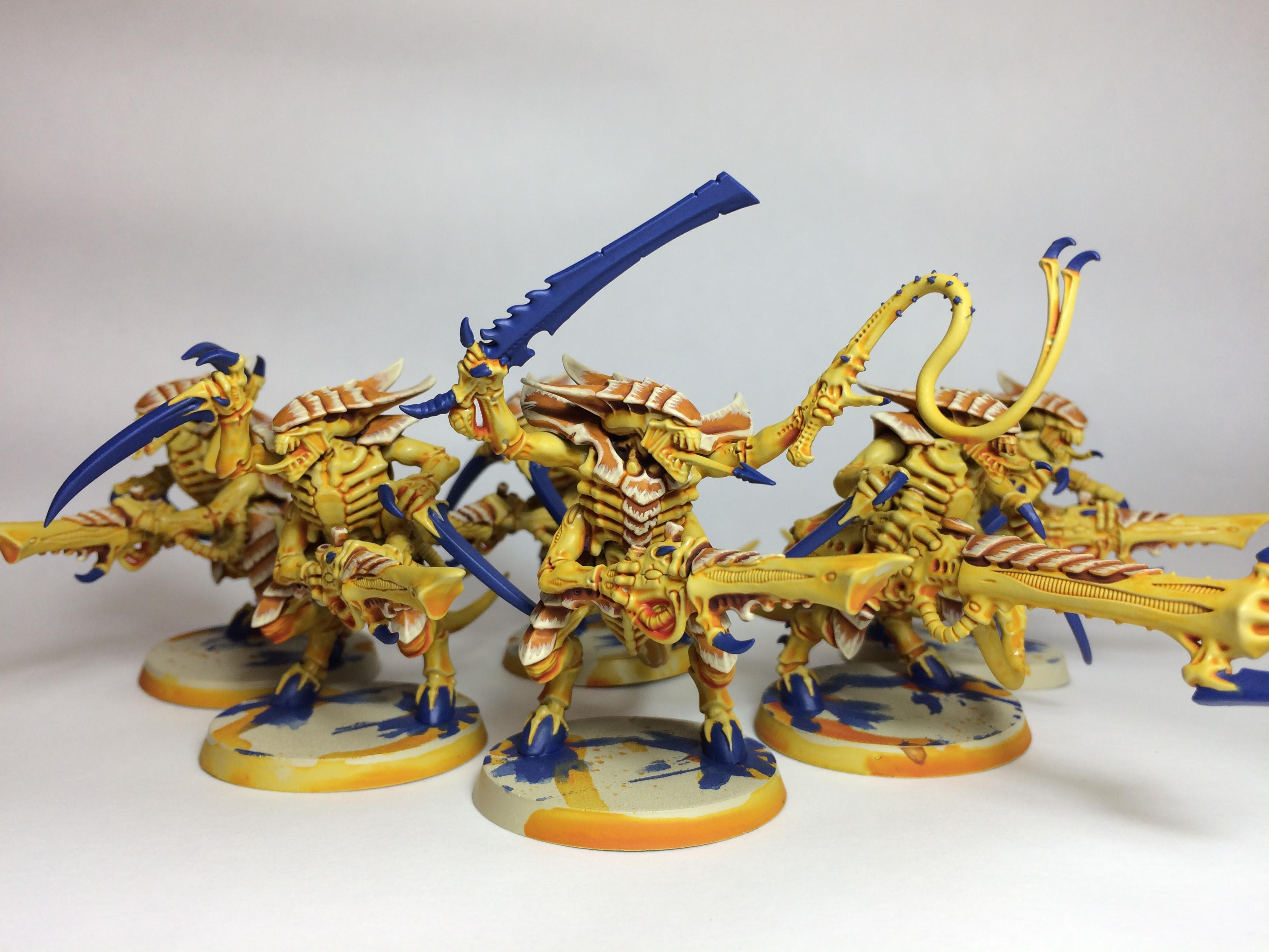 Mastodon, Prime, Tyranids, Warriors, Yellow