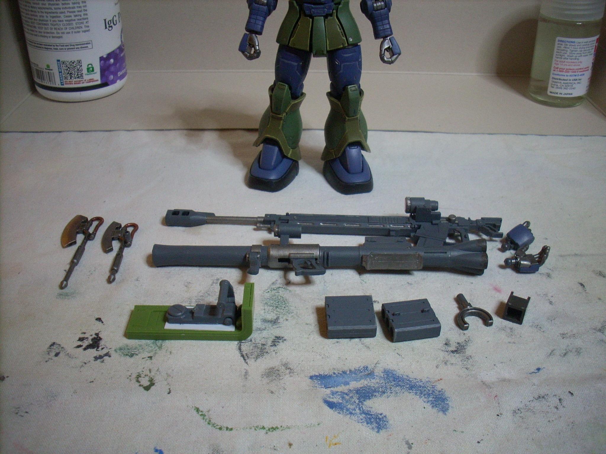 Gundam, Hg, Hguc, Mobile Suit, Msg, Origin, Shadowsanddust, Zaku, Zaku I