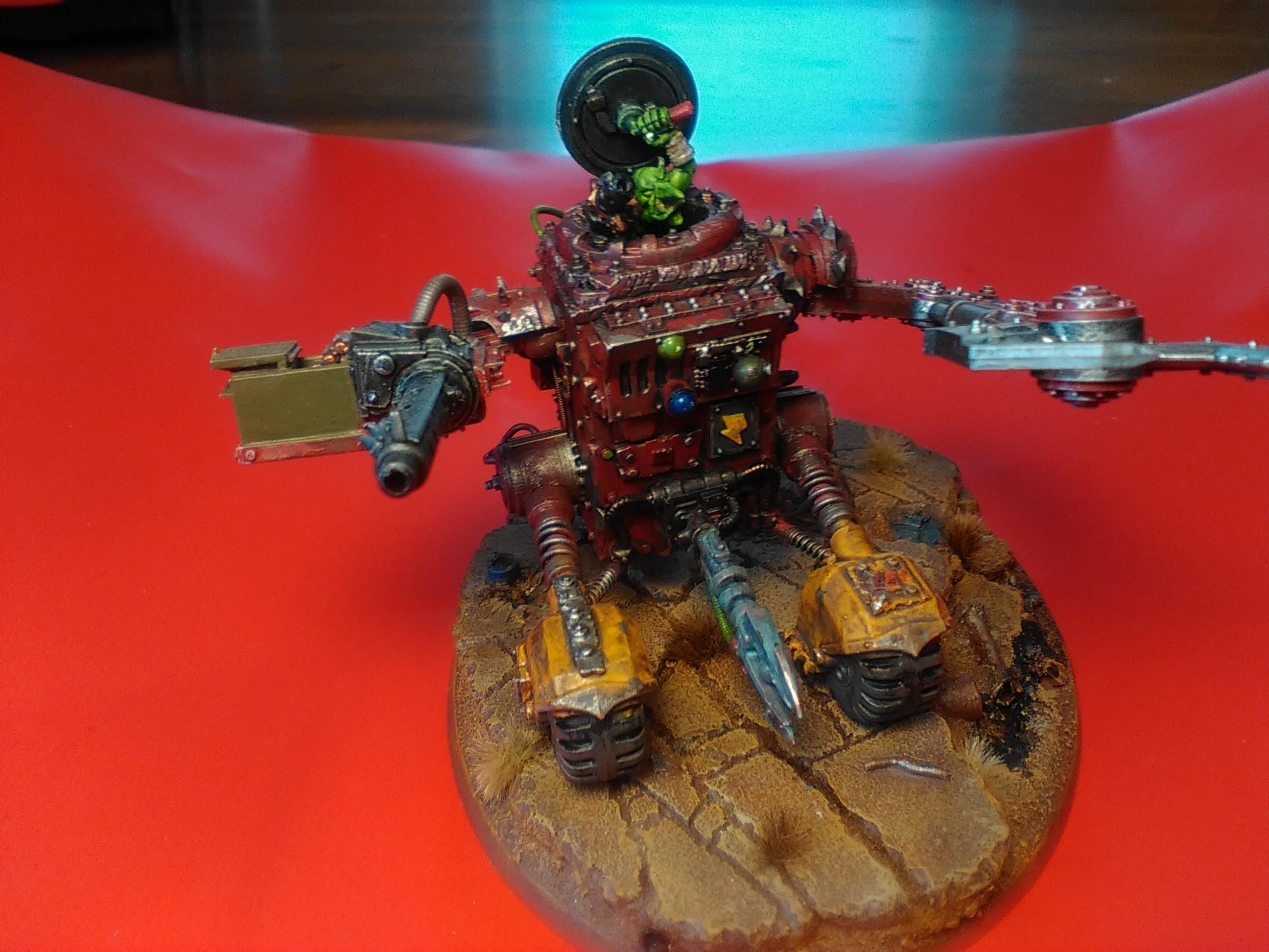 Grot Conversion, Grots, Killa Kan, Kitbash, Ork Conversions, Ork Coustom Made Vehicles, Orks, Scratch Build, Warhammer 40,000