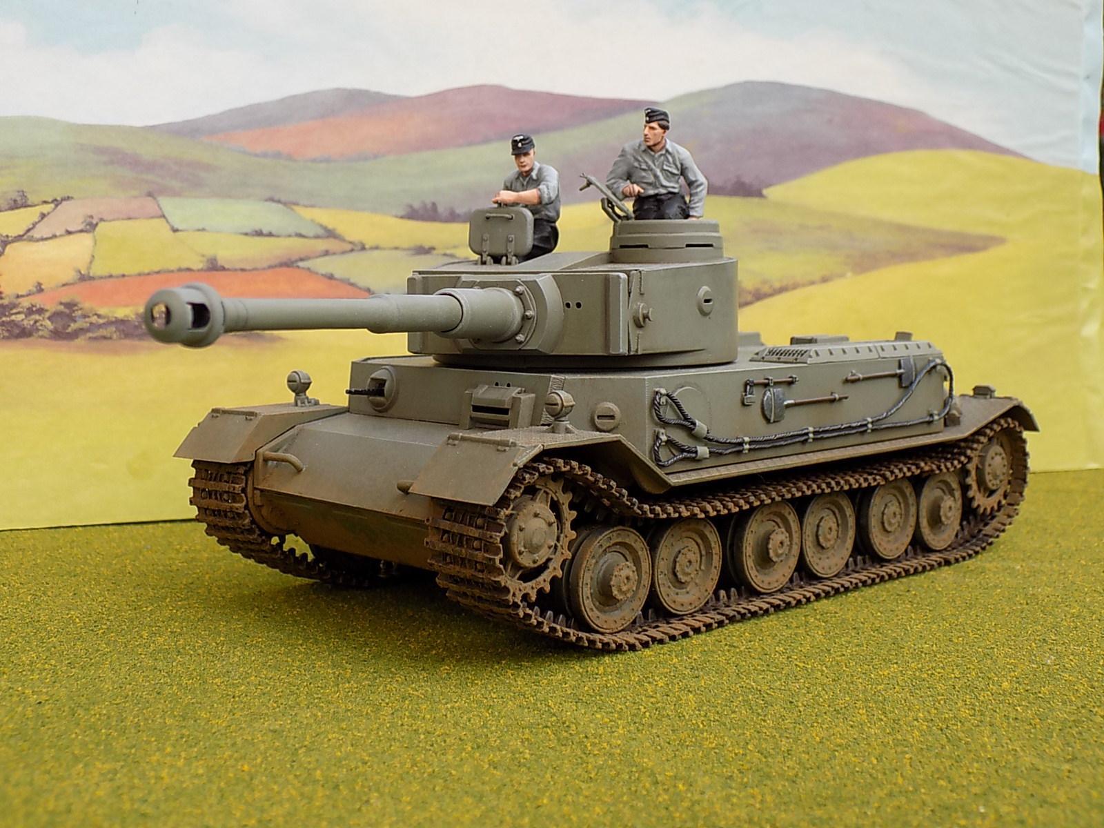 1%3a35, 1:35, Tiger, World War 2