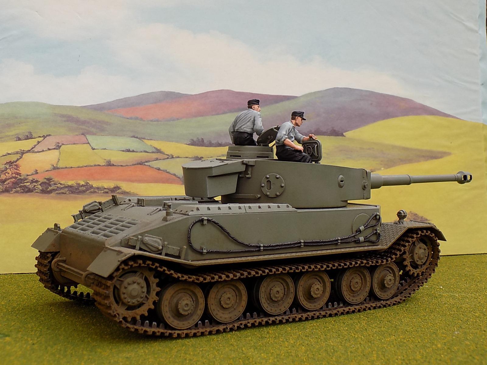 1:35, Tiger, World War 2