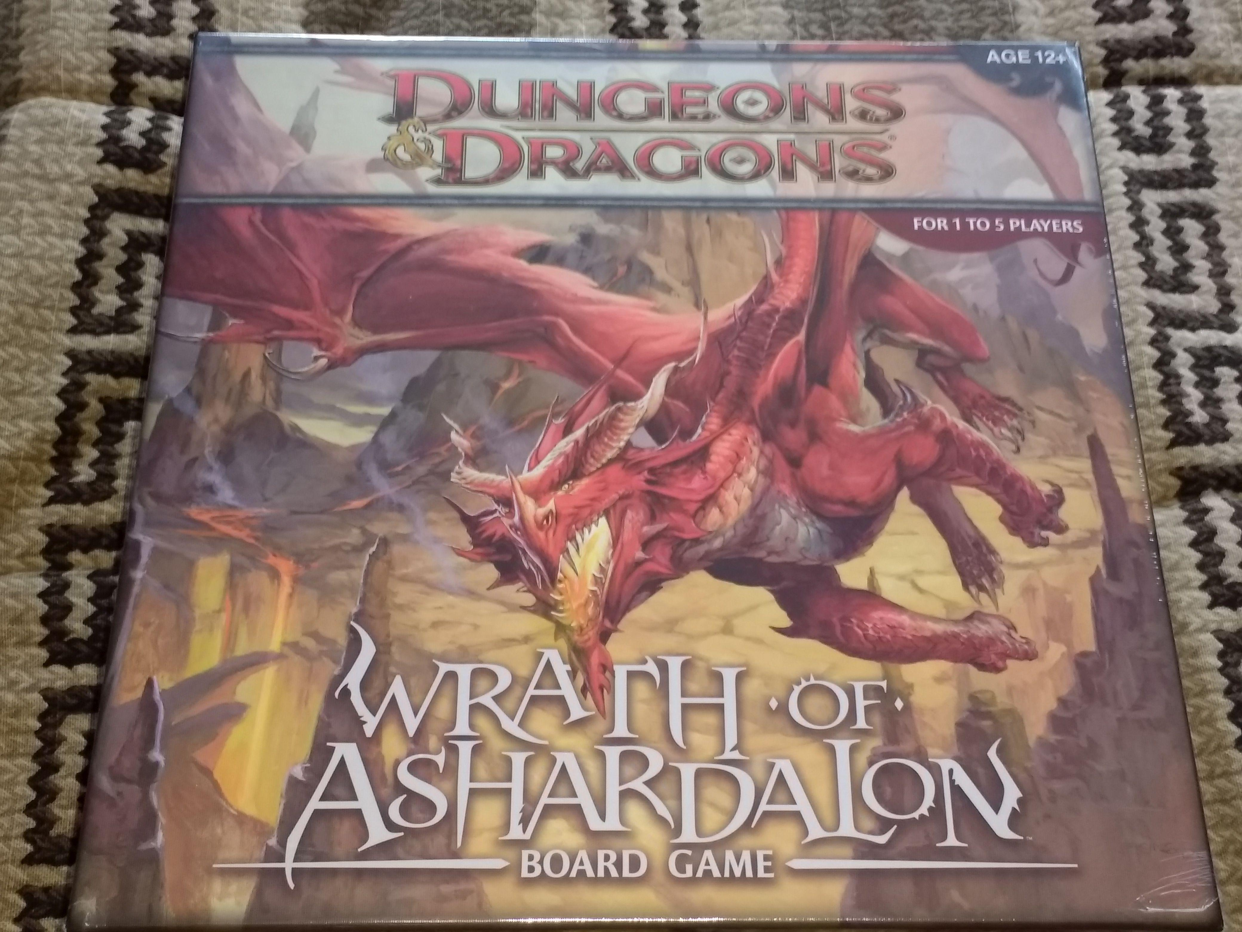Board Games, Dungeons And Dragons