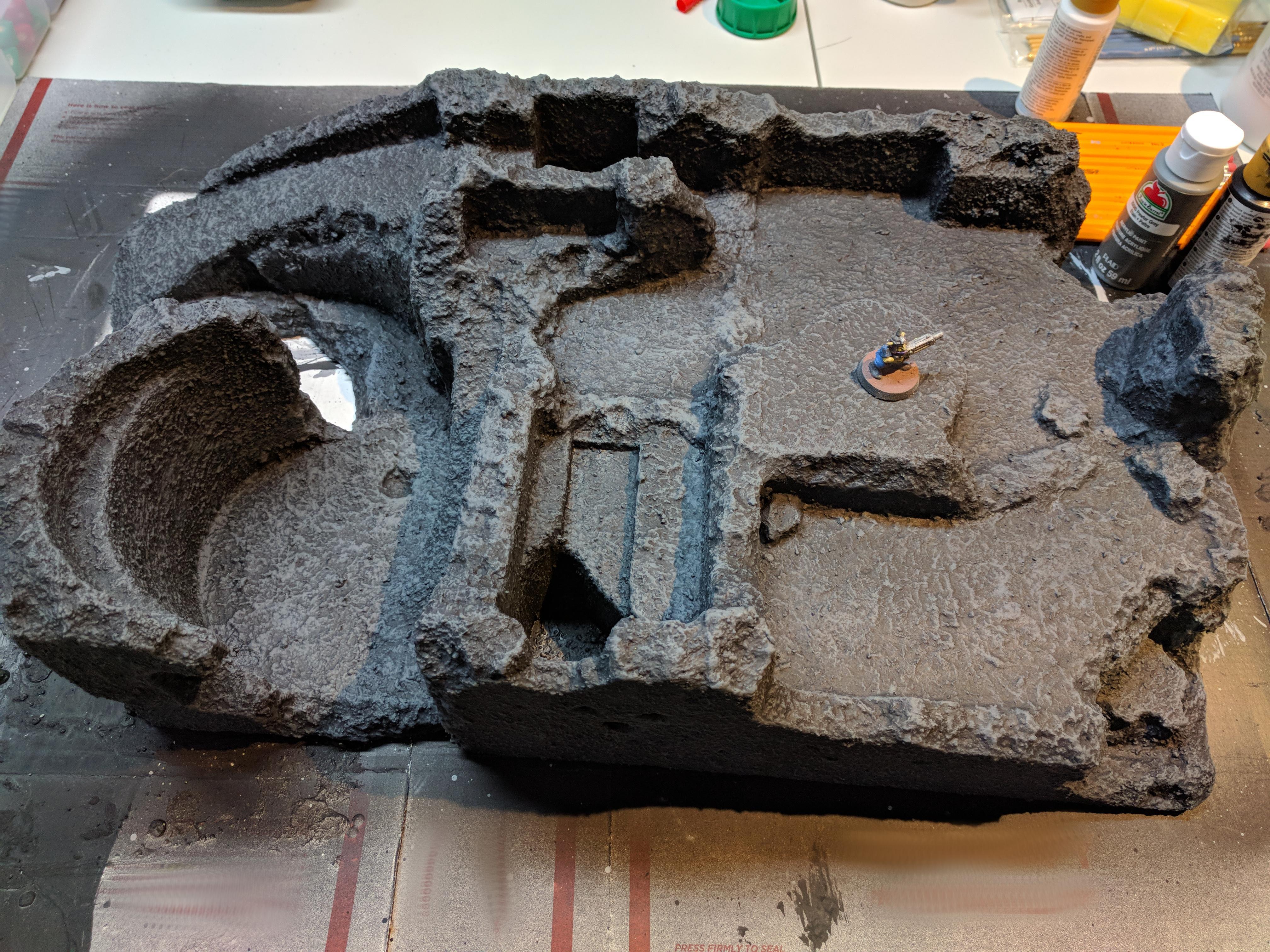 Terrain, Work In Progress
