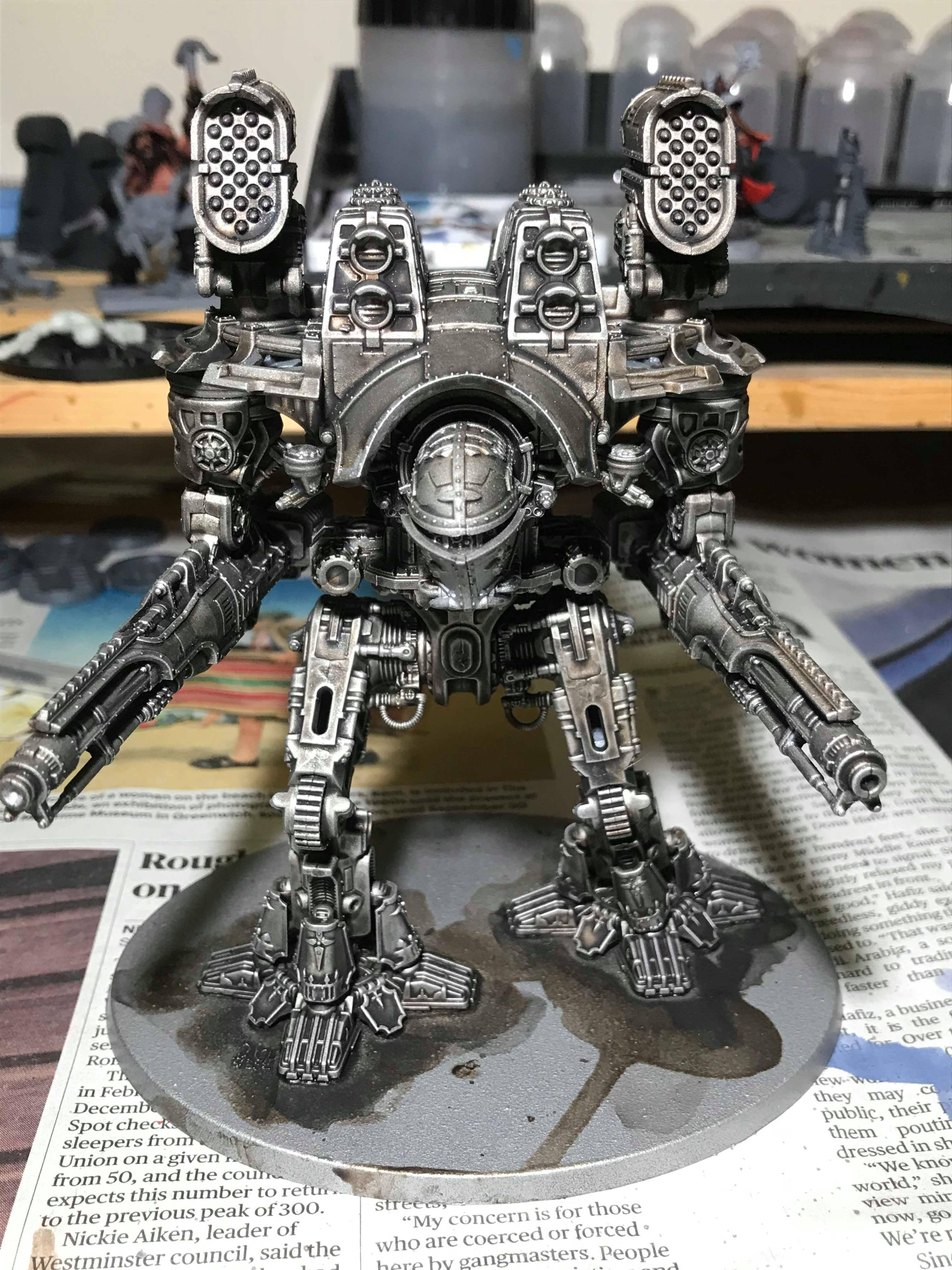 Adeptus Titanicus, Warlord chassis