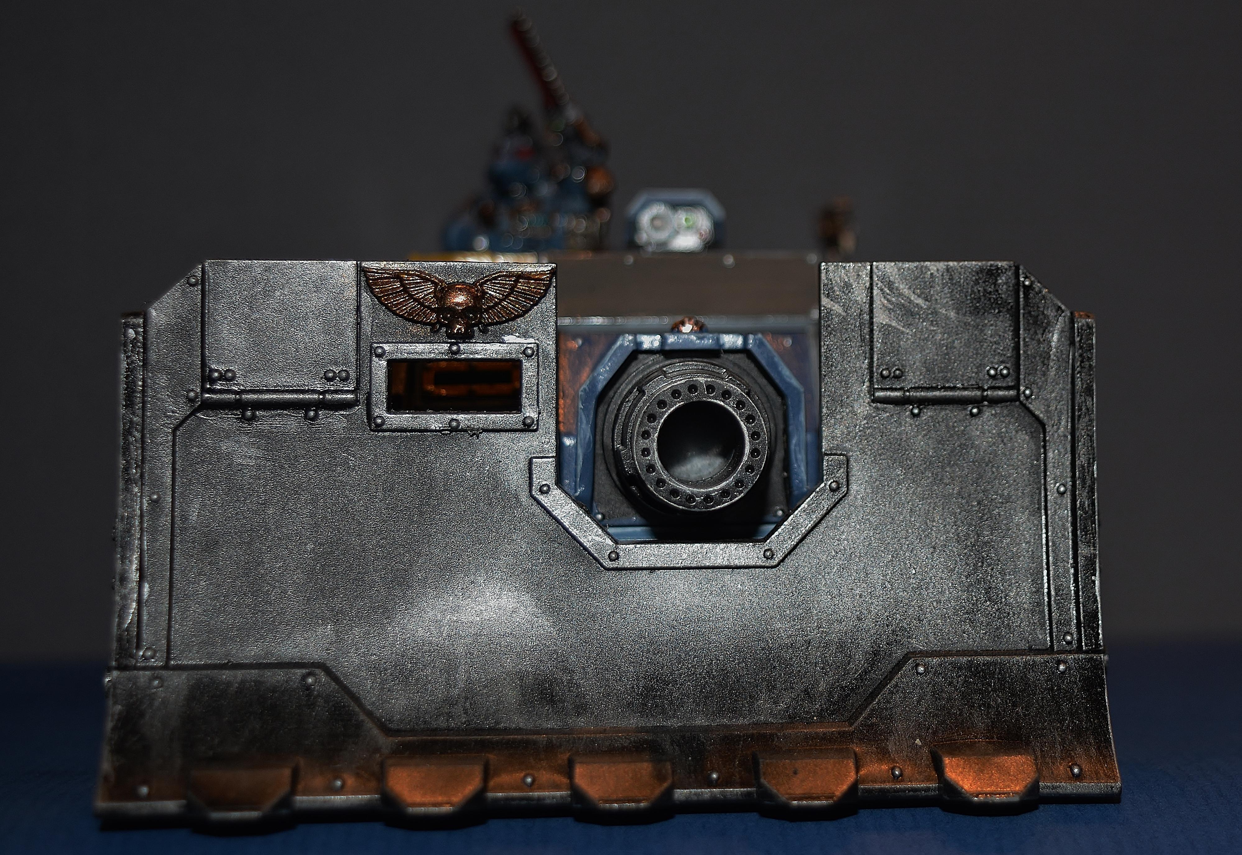 Boom, Cannon, Heavy, Rhino, Space Marines, Space Wolves, Tank, Vindicator, Wulfen