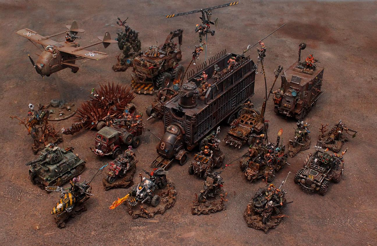 Ash Wastes, Post Apocalypse, Trucks, Vehicle