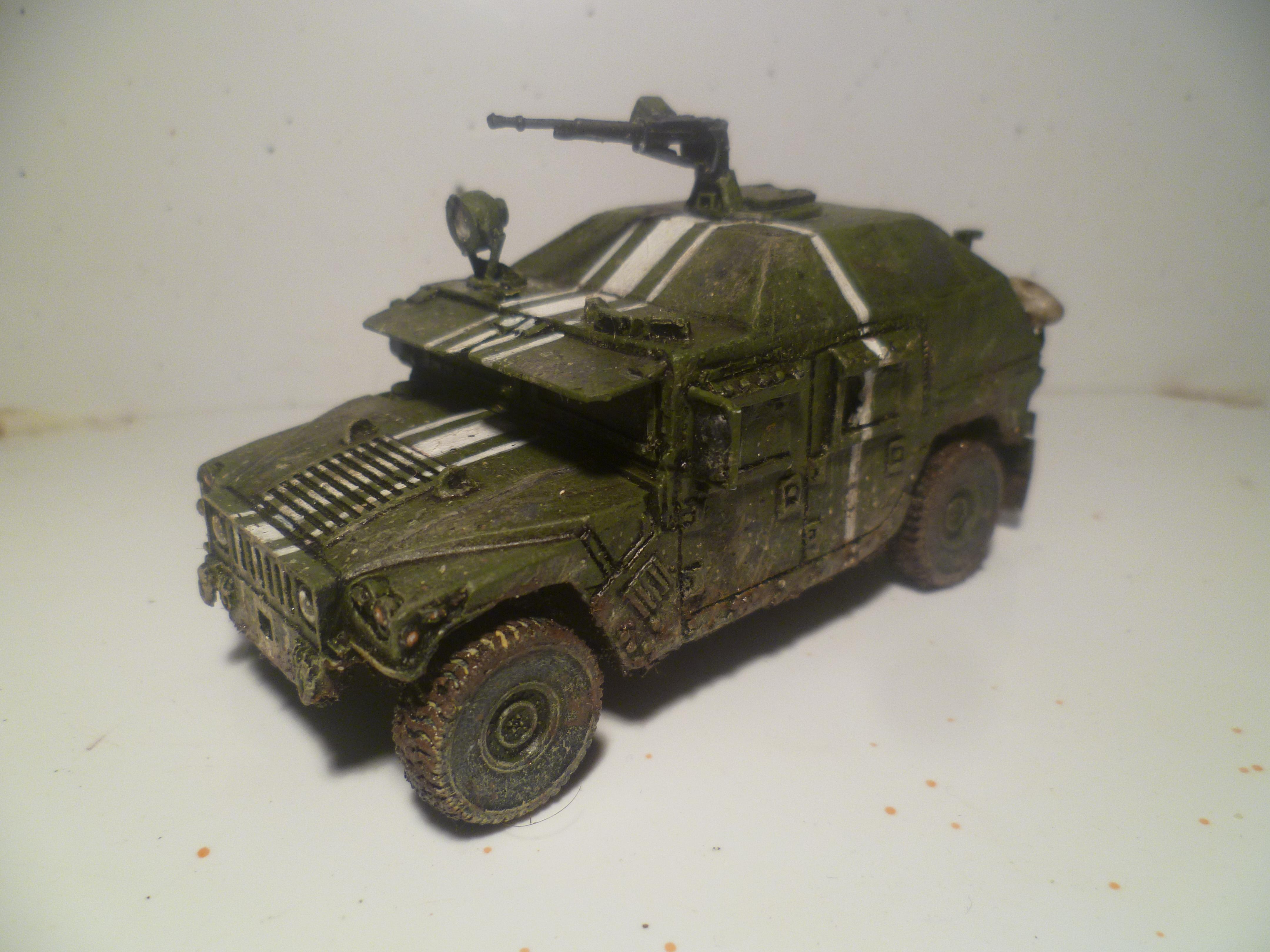 1/50, 28mm, Conversion, Eastern European, Hummer, Humvee, Modern, Russians, Ukrainian, Vehicle
