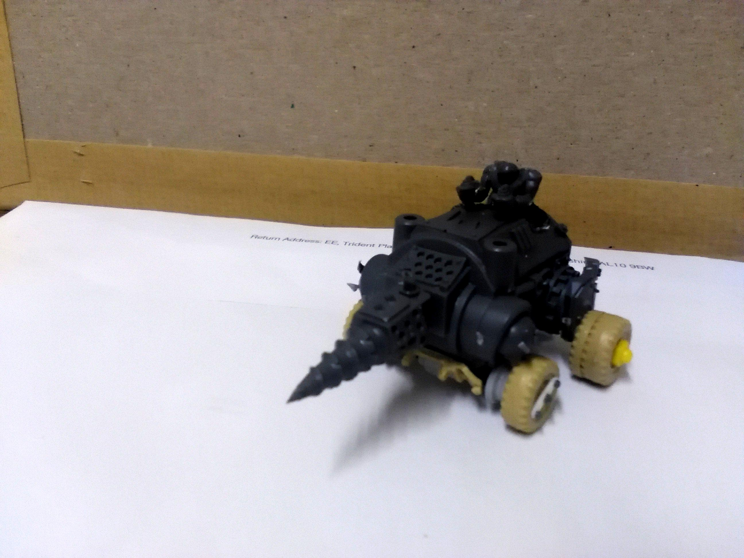 Conversion, Grot Conversion, Grots, Kitbash, Kitbashed, Ork Conversion, Ork Conversions, Ork Coustom Made Vehicles, Orks, Scratch Build, Warhammer 40,000