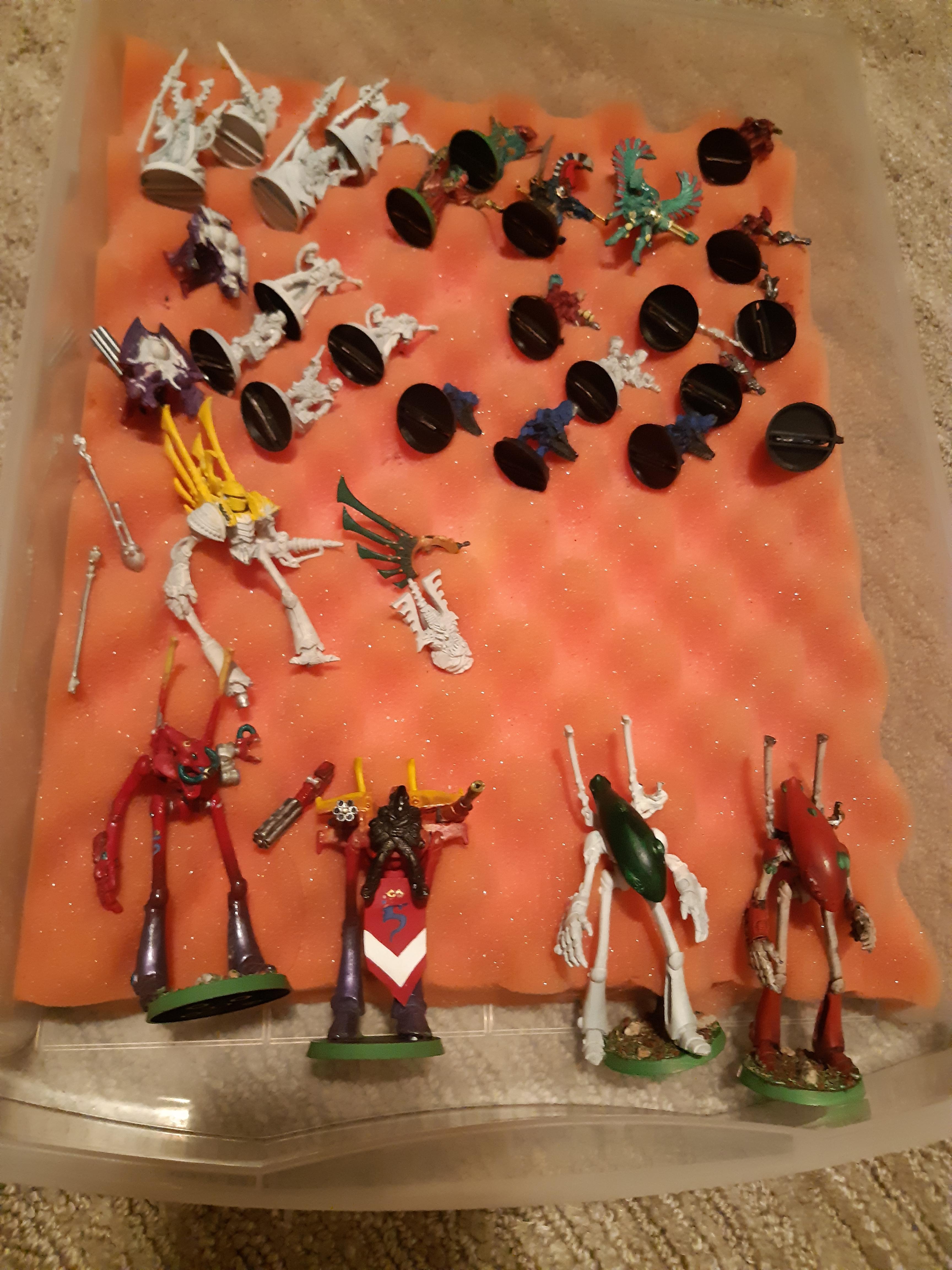 Eldar, Metal, Pewter, Plastic, Rogue Trader, Saim-hann, Warhammer 40,000