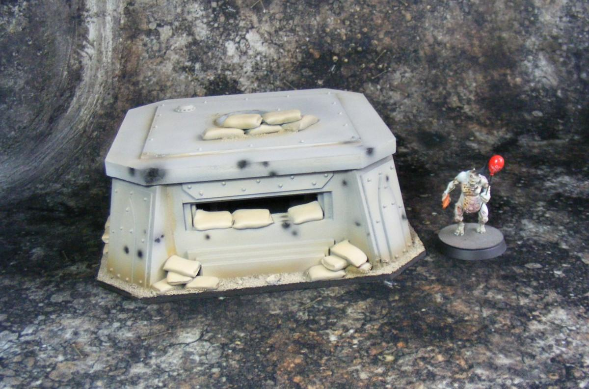 Bunker, Terrain, bunker 1