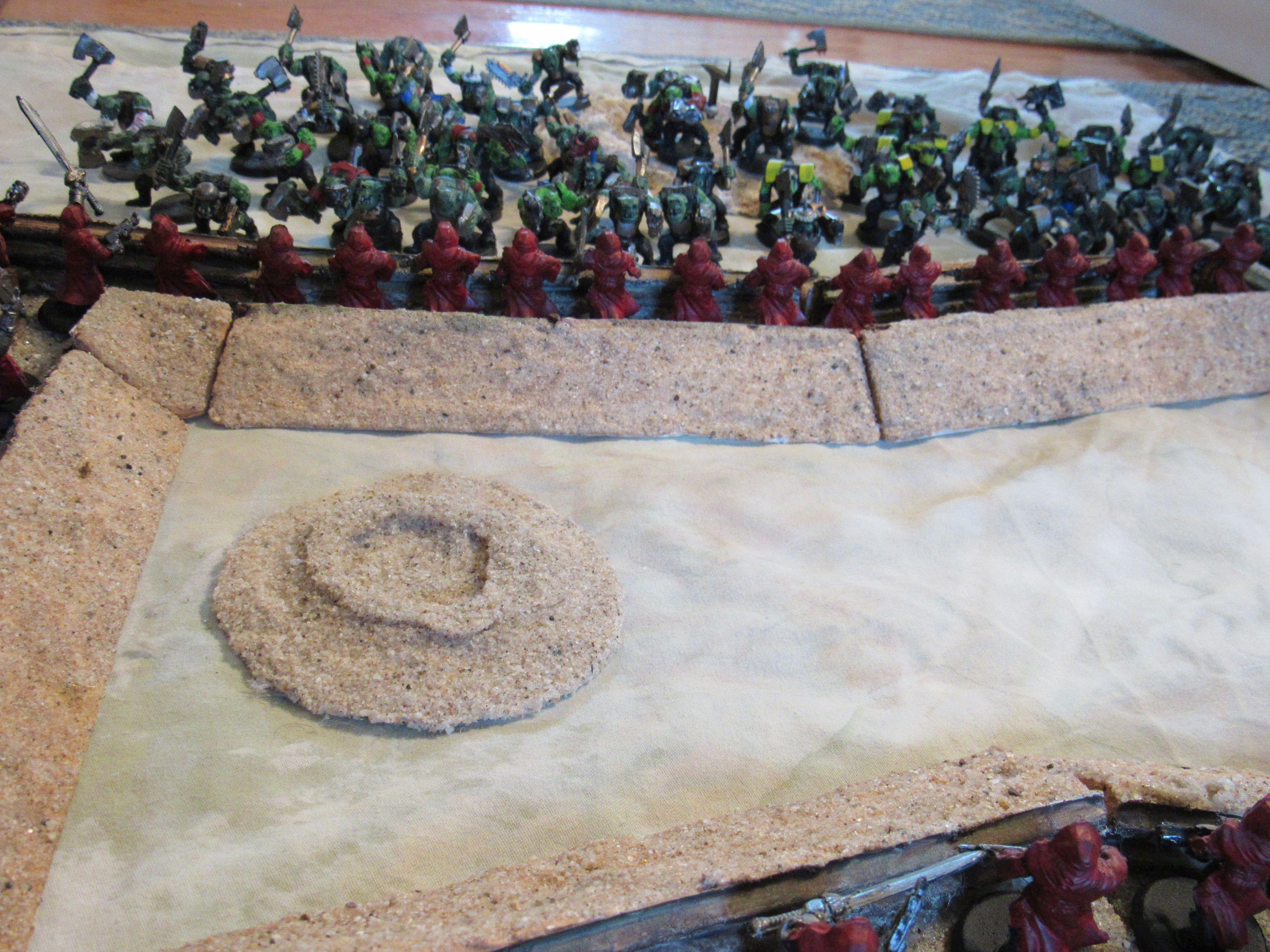 Warhammer 40,000, trenches