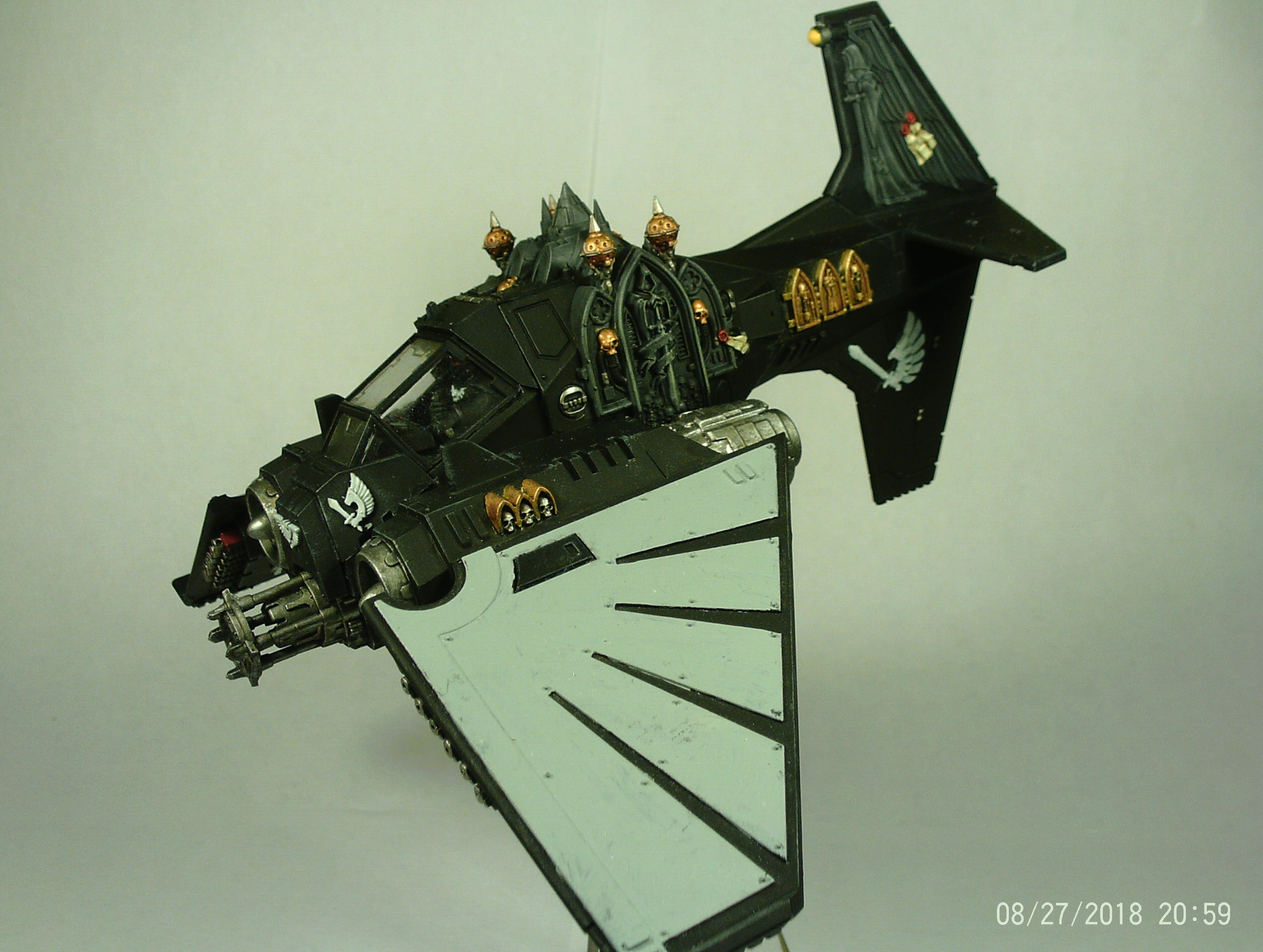 Angel, Bomber, Dark, Flyer, Plane, Ravenwing, Space, Space Marines, Stasis, Talon