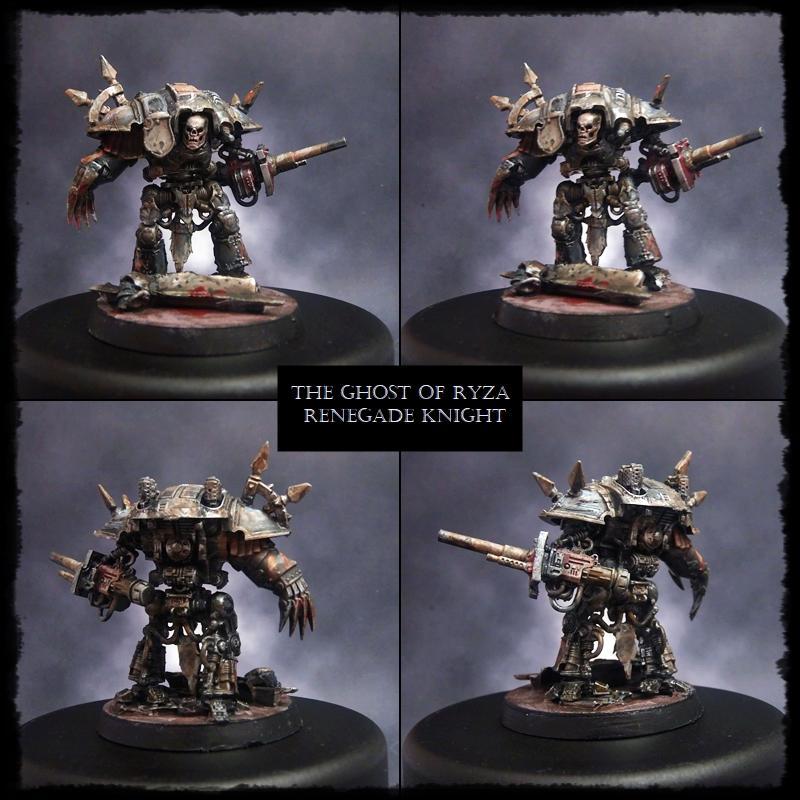 Adeptus Titanicus, At, Chaos Knight, Knights, Renegade Knight