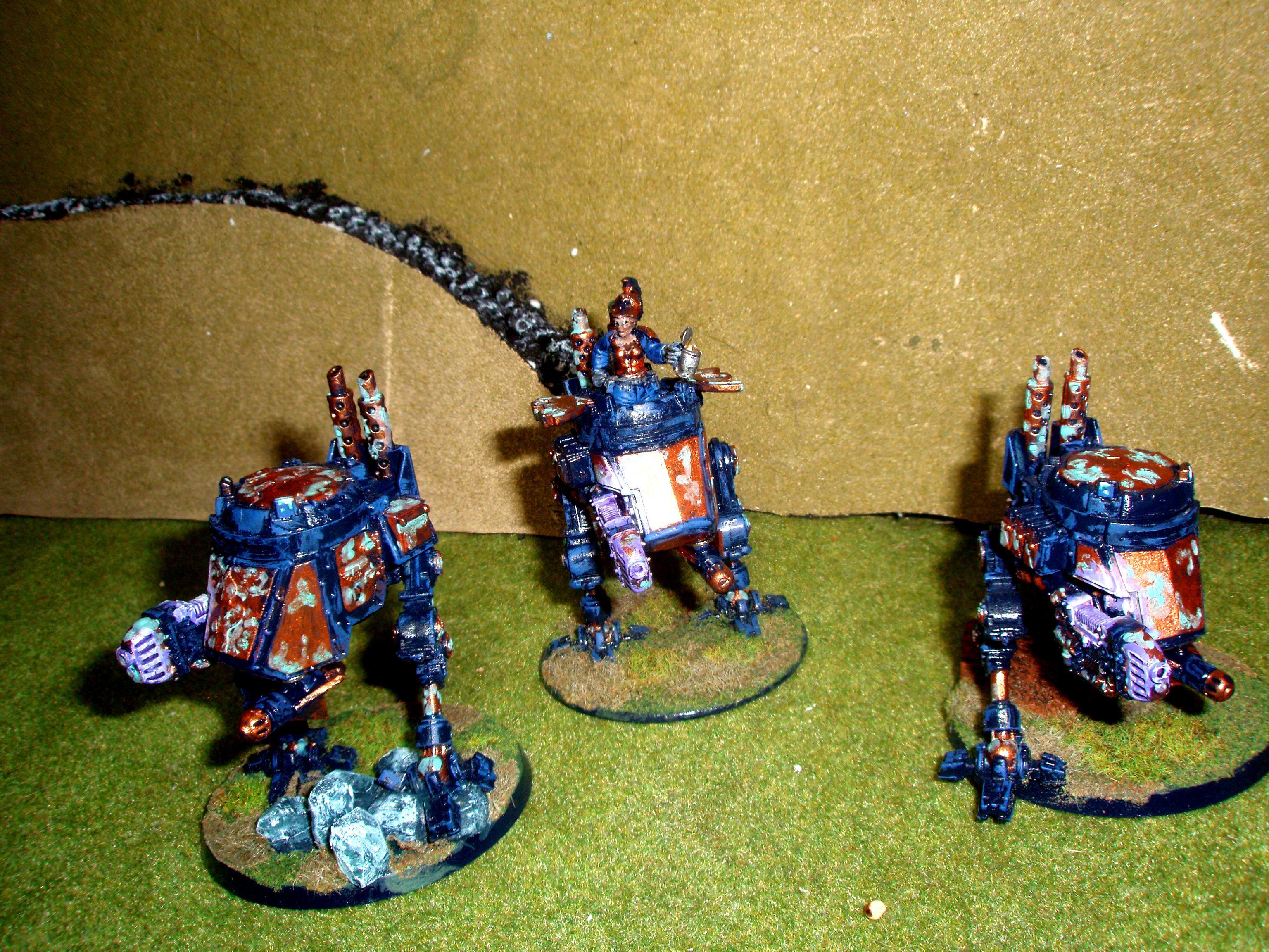 Amazons, Army, Astra Militarum, Bronze, Imperial Guard, Verdigris