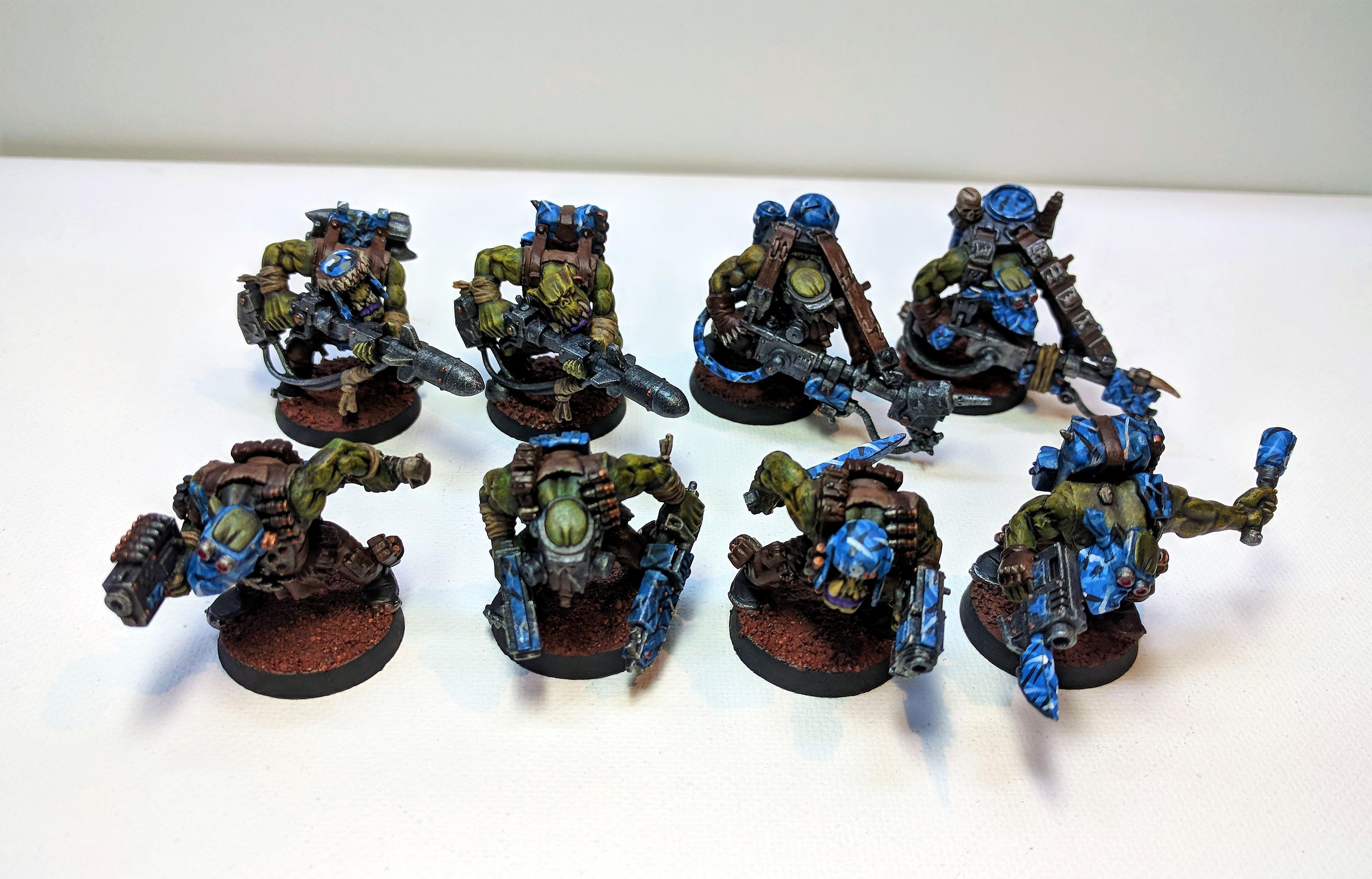 Camouflage, Kommando, Kommandoes, Orks