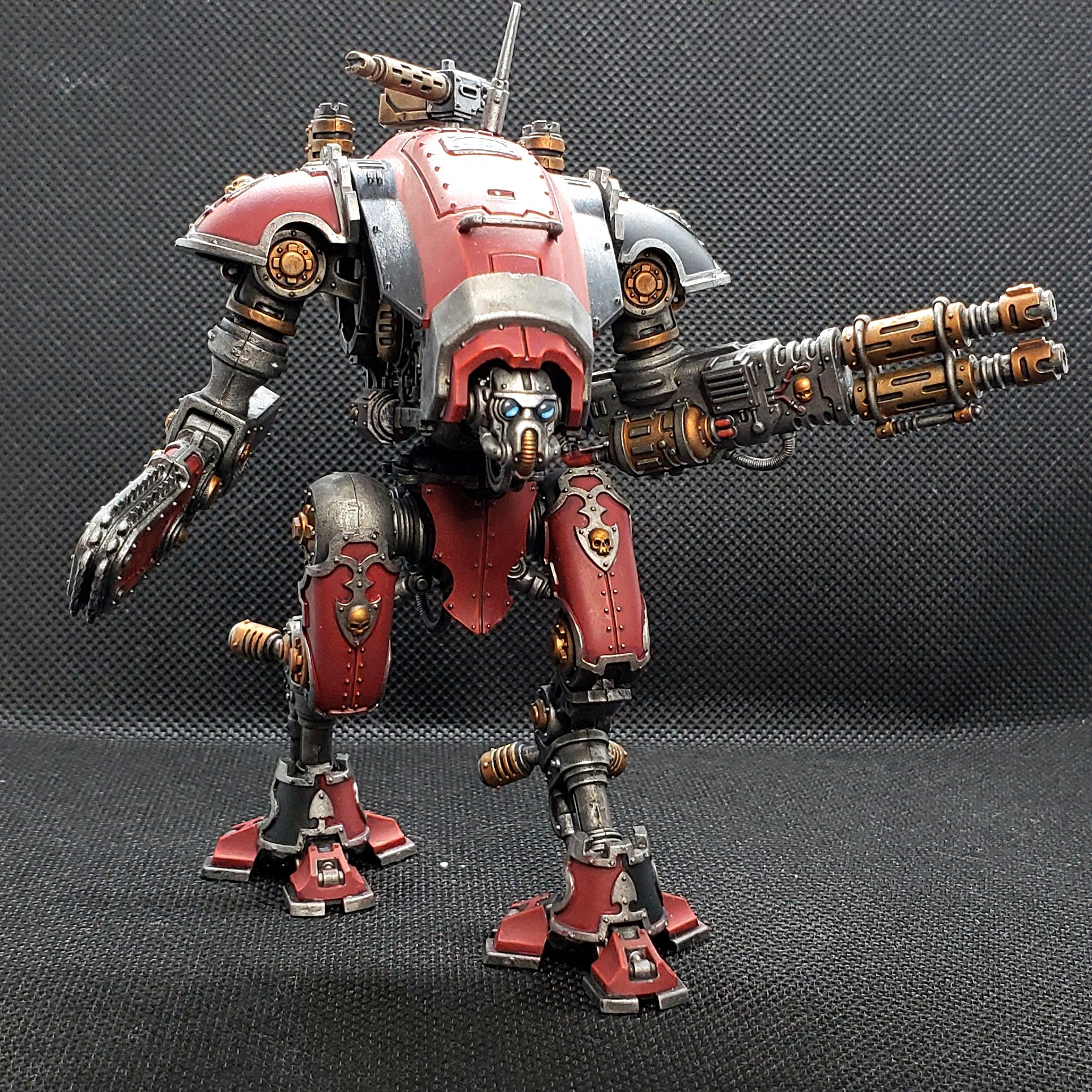 Adeptus Mechanicus, Admech, Armiger, Armiger Warglaive, Armiger Warglaives, Imperial Knights, Warhammer 40,000