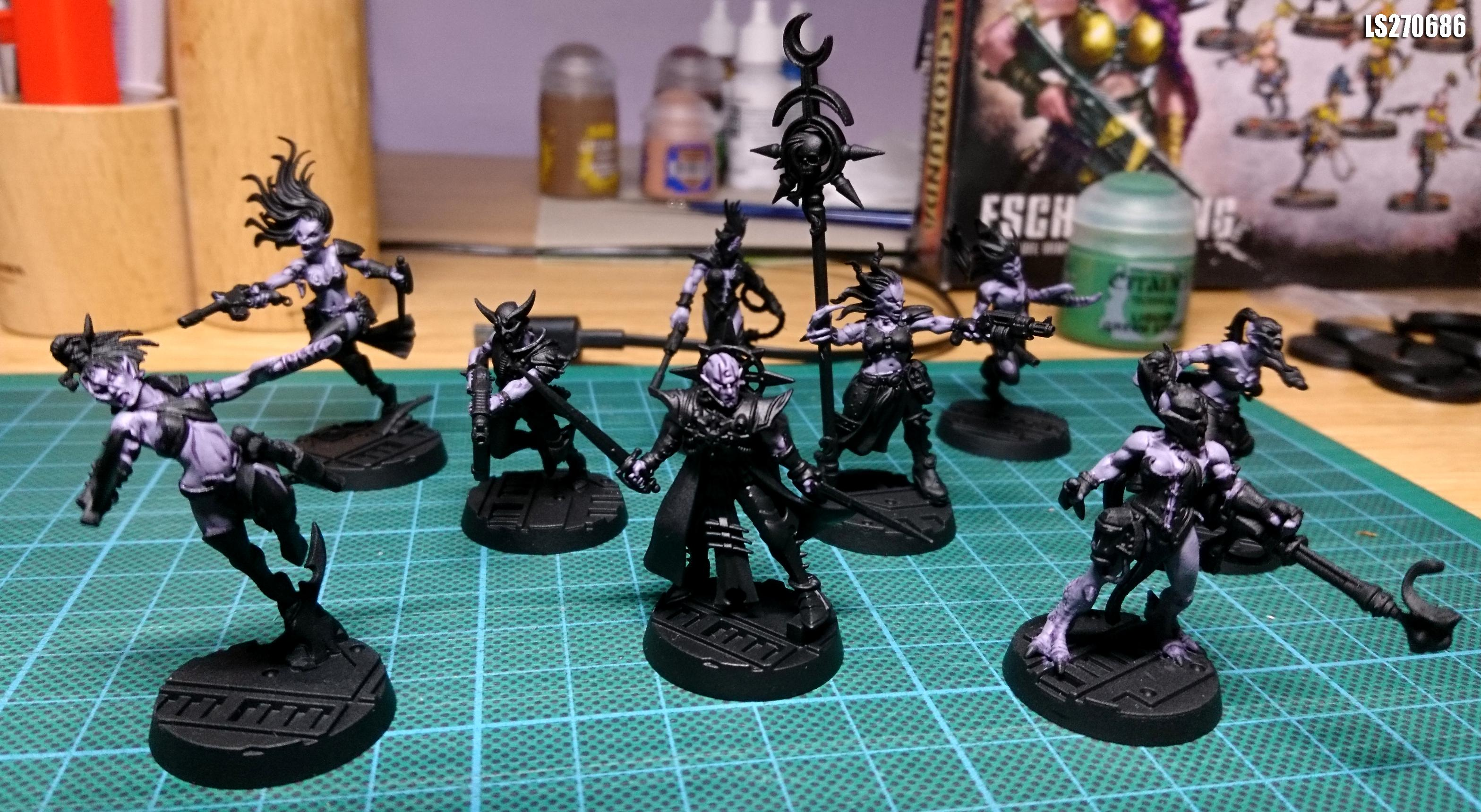 Chaos, Conversion, Cultist, Kill Team, Kit Bashing, Lust, Pleasure, She Who Thirsts, Slaanesh, Warhammer 40,000, Work In Progress