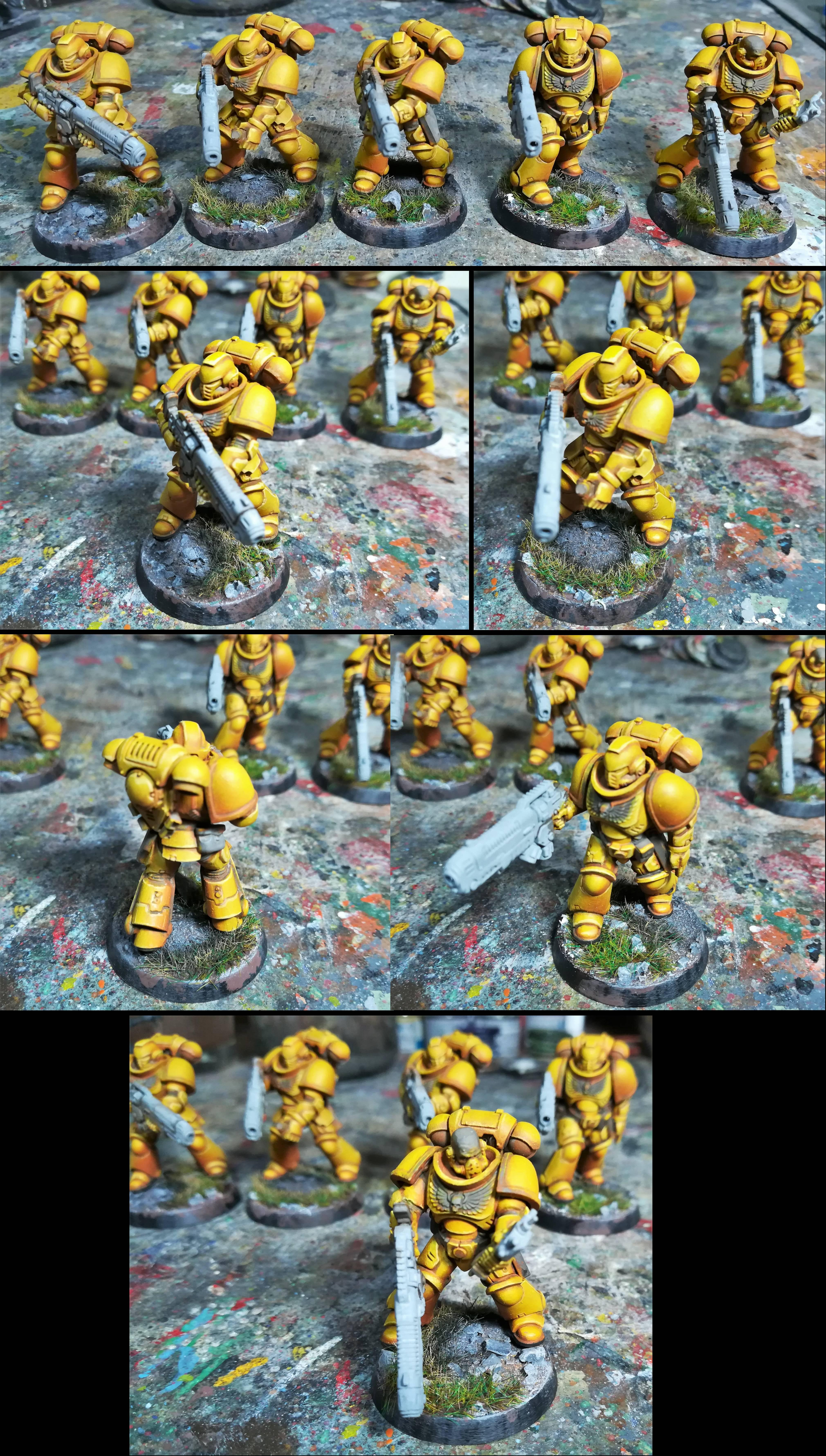 Hellblasters pip 6; onto the bases