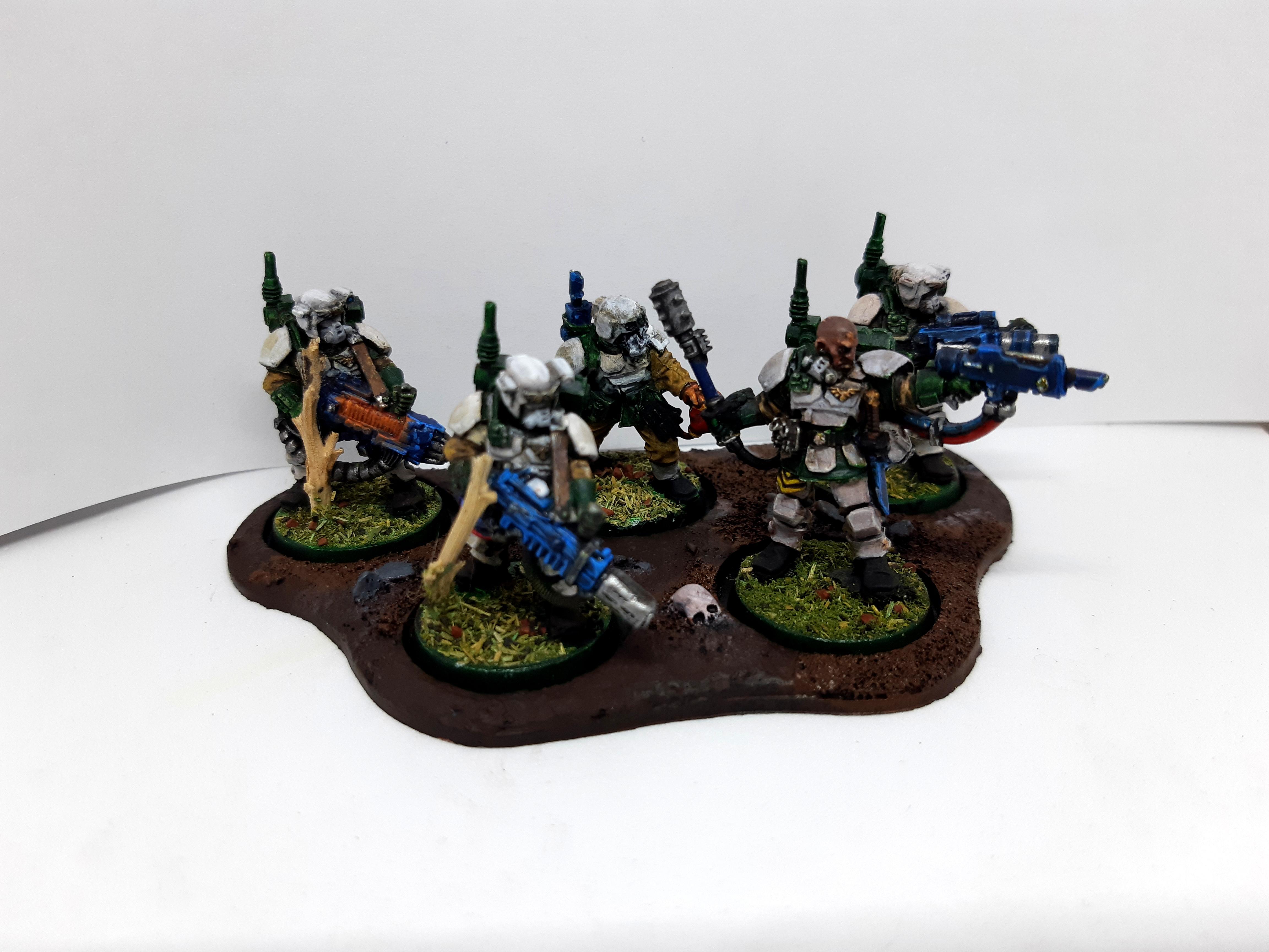 Imperial Guard, Kasrkin, Metal, Warhammer 40,000