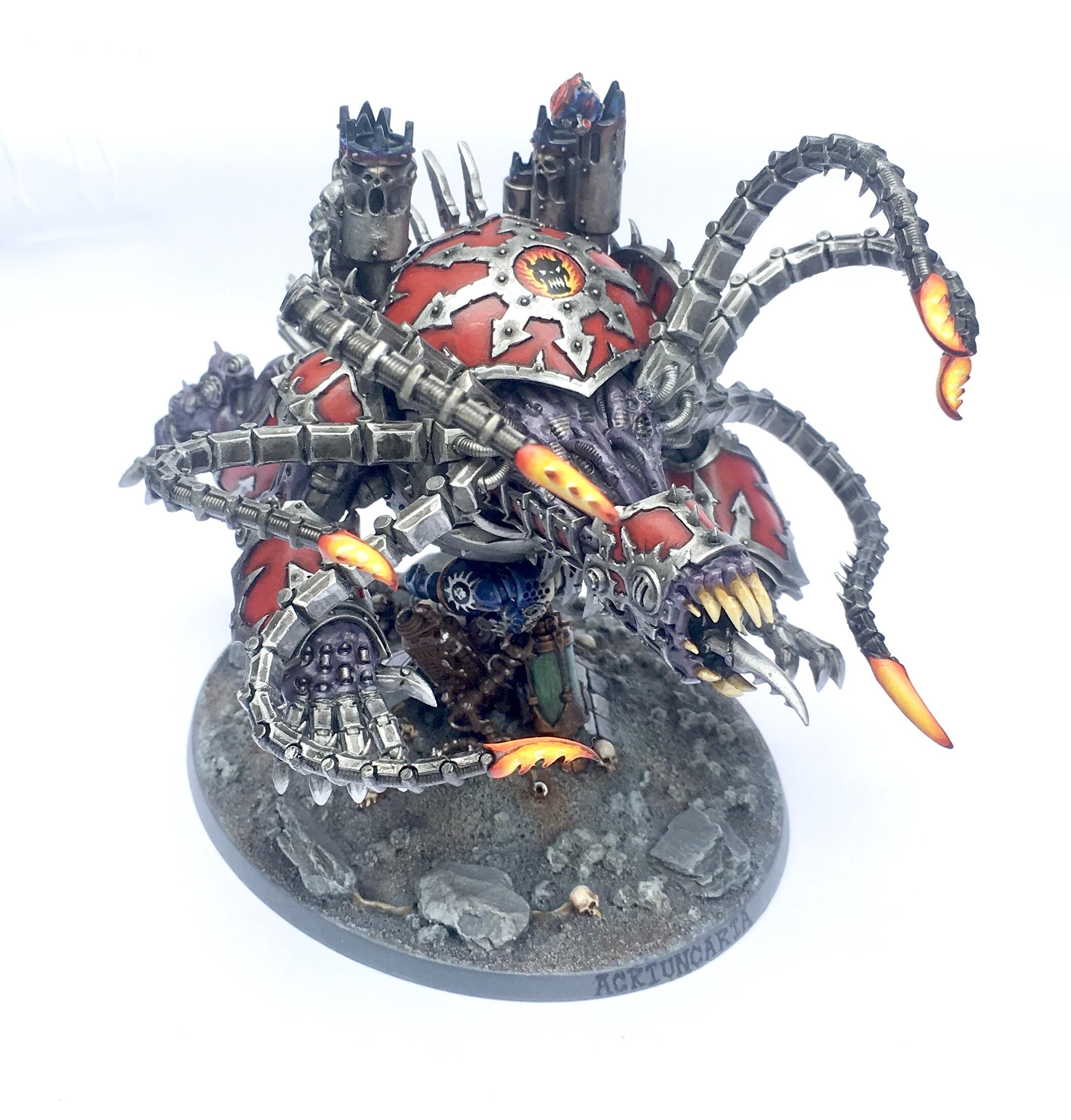 Chaos, Chaos Space Marines, Conversion, Daemon Engine, Maulerfiend, Word Bearers