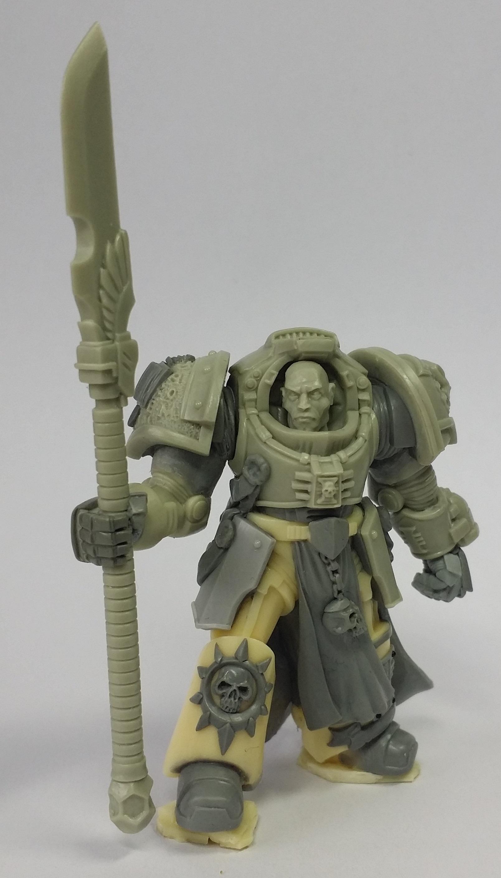 Daemonhunter, Grey Knights, Silver Knight, True Scale Terminator, True Scale Terminator Silver Grey Knight Daemonhunter