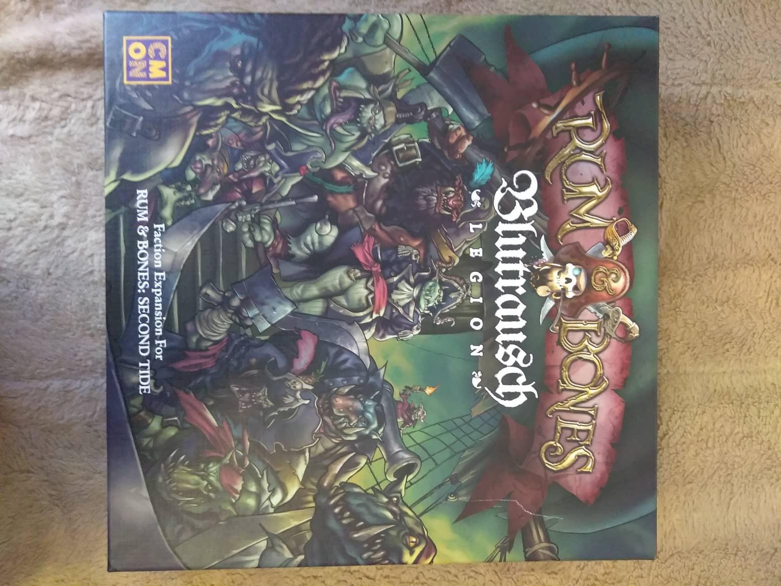 Blutrausch, Orcs, Rum & Bones