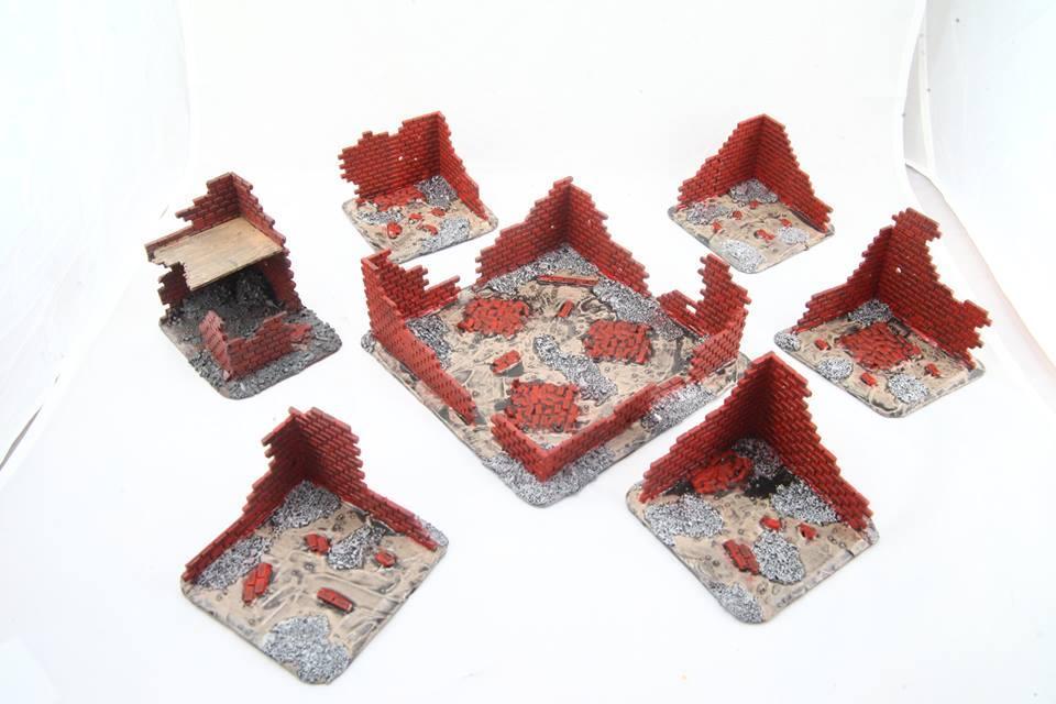 Brick, Plastic, Proxie, Walls