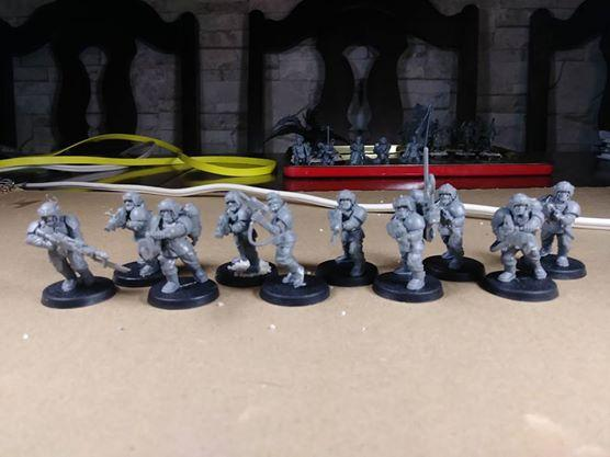 Astra Militarum, Cadian Shock Troops, Cadians, Eastern Front, Guard, Heretics, Imperial, Imperial Guard, Infantry, Kronstadt, Militia, Planetary Defence Force, Red Army, Renegades, Renegades And Heretics