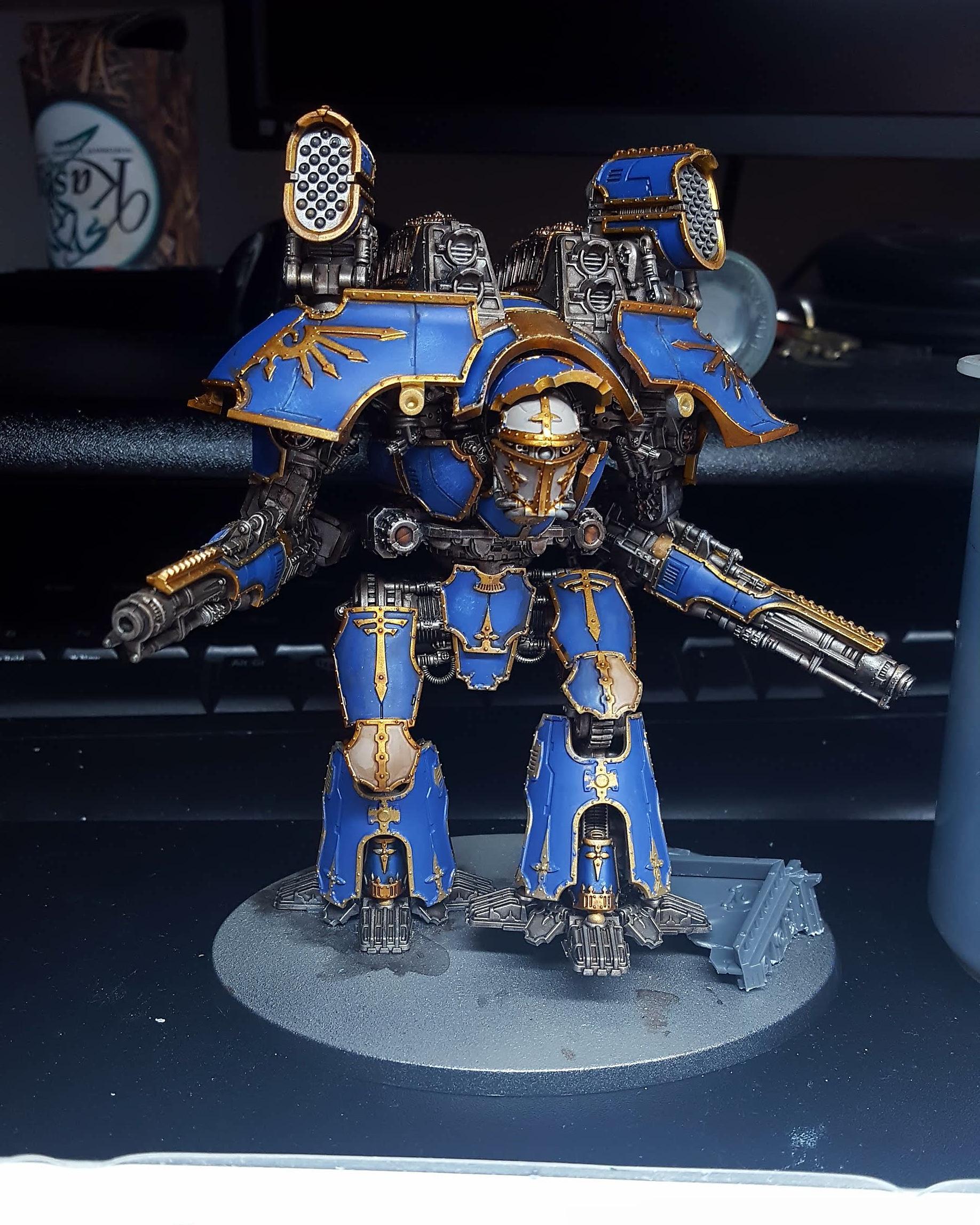 Legio Astorum Warlord titan