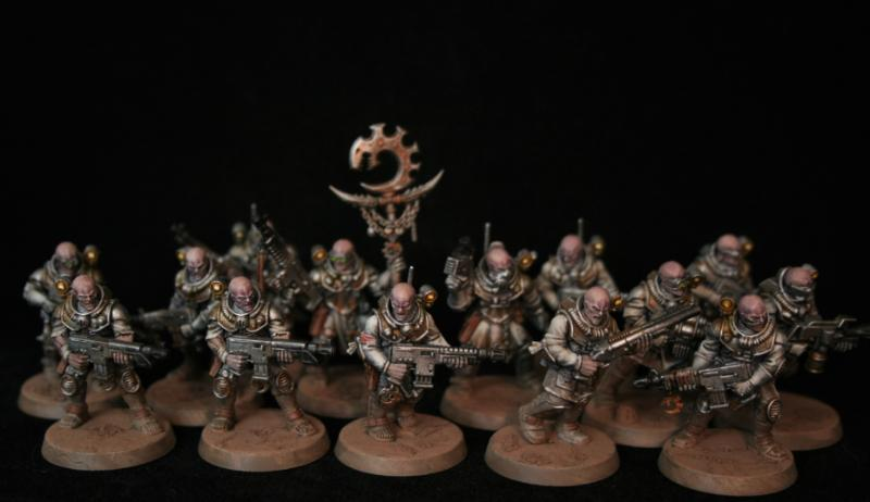 Cult Troops, Genestealer Cult, Hybrids
