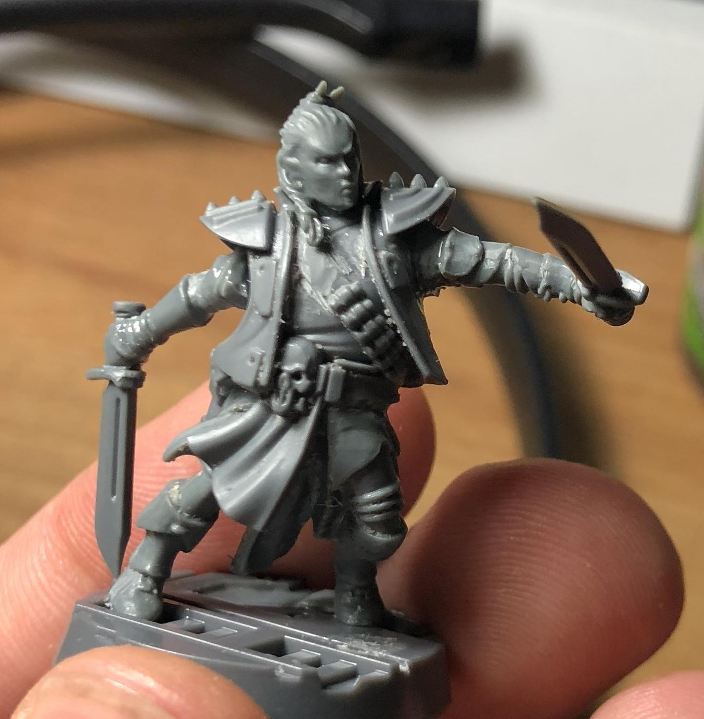 Necromunda, Female wip orlock kitbash