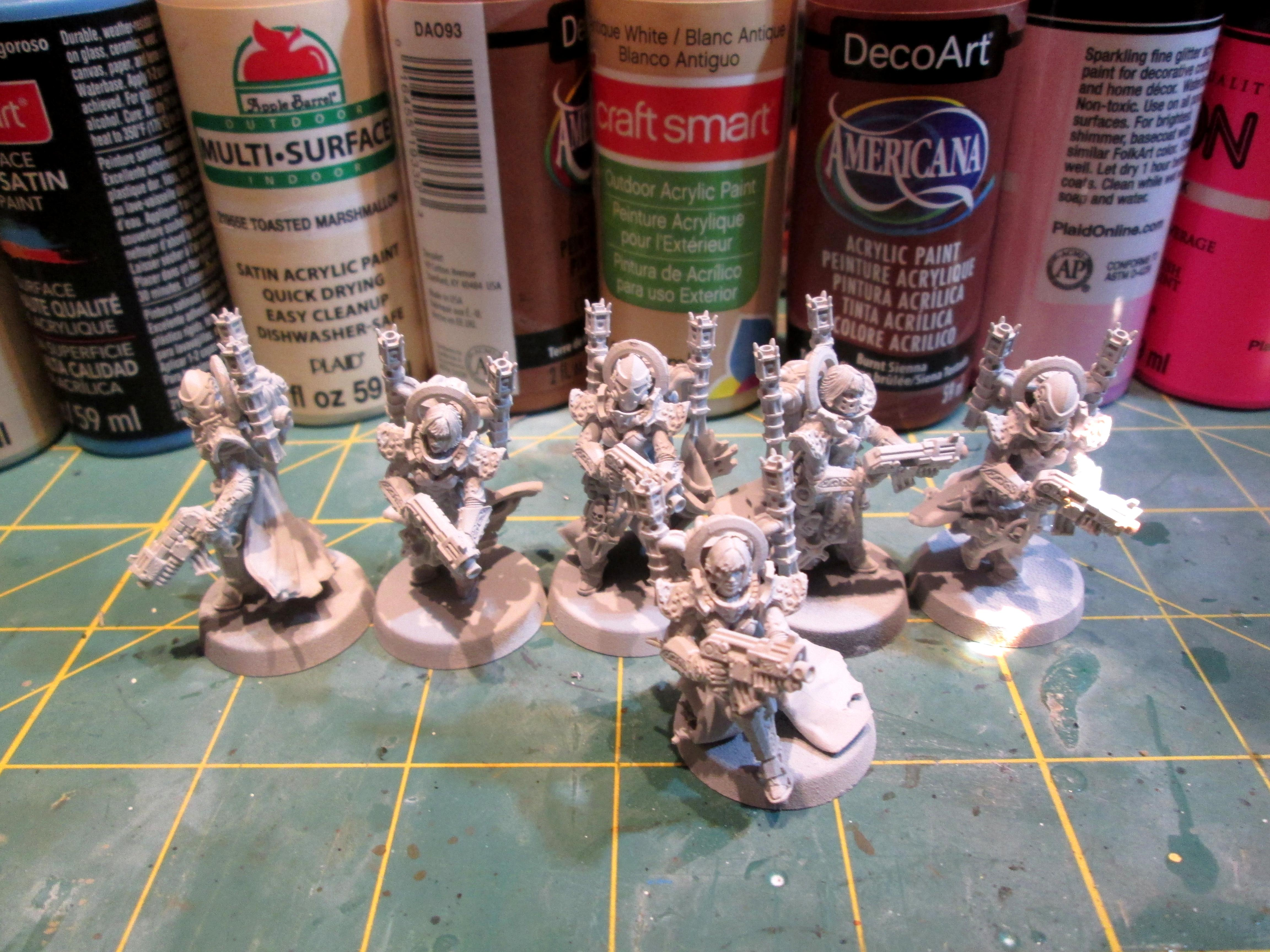 Infantry, Prep, Project, Sisters Of Battle
