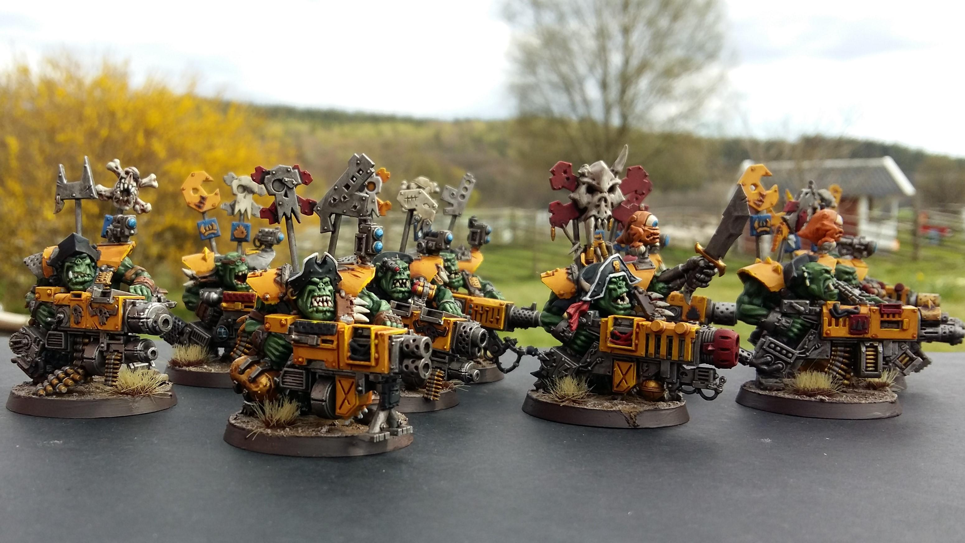 Bad Moons, Flash Git, Kill Team, Orks, Warhammer 40,000