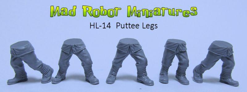 Bits, Mad Robot Miniatures, Resin