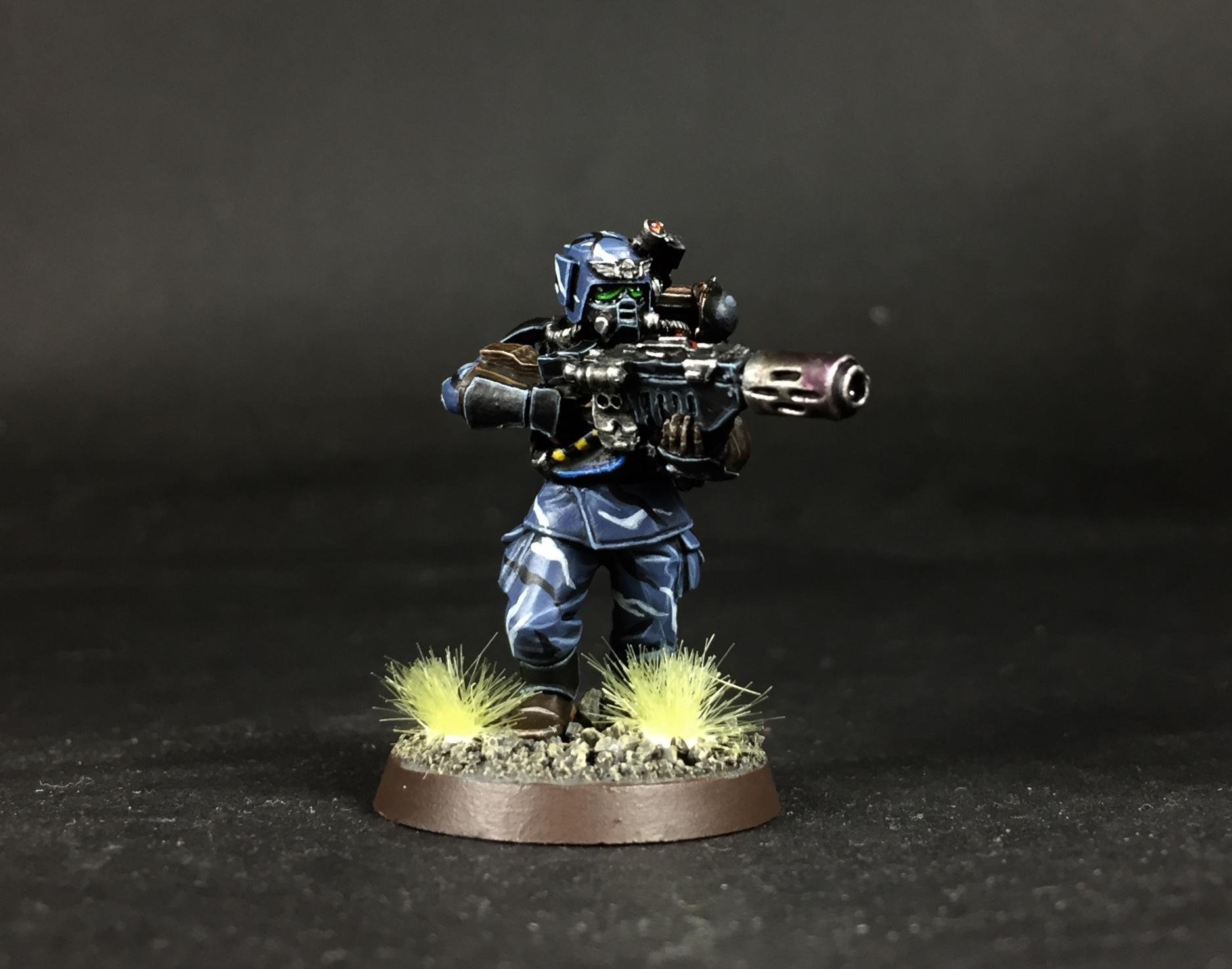 Guardsmen, Meltagun, Rebreather